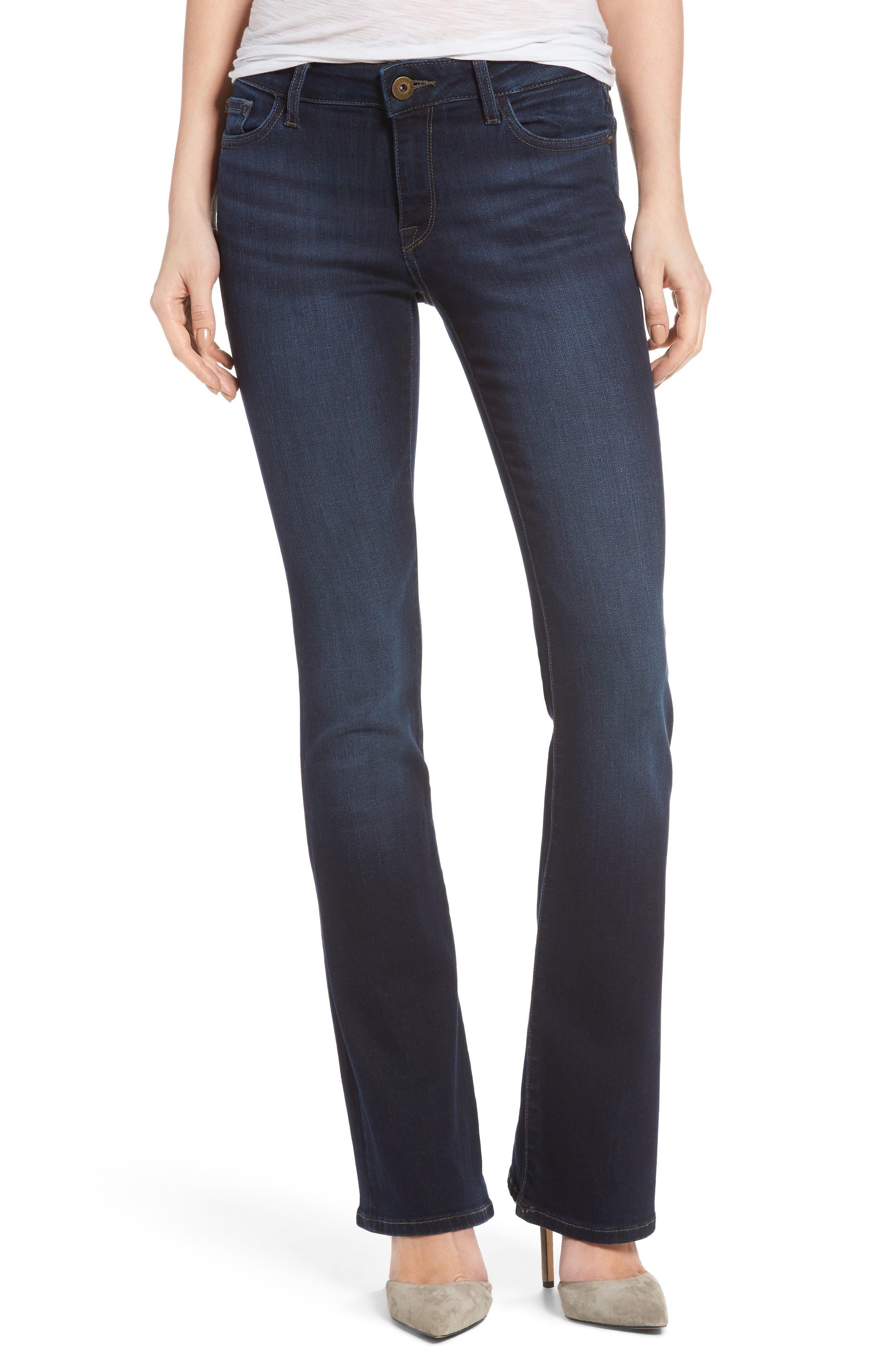 Bridget Bootcut Jeans,                         Main,                         color, Peak