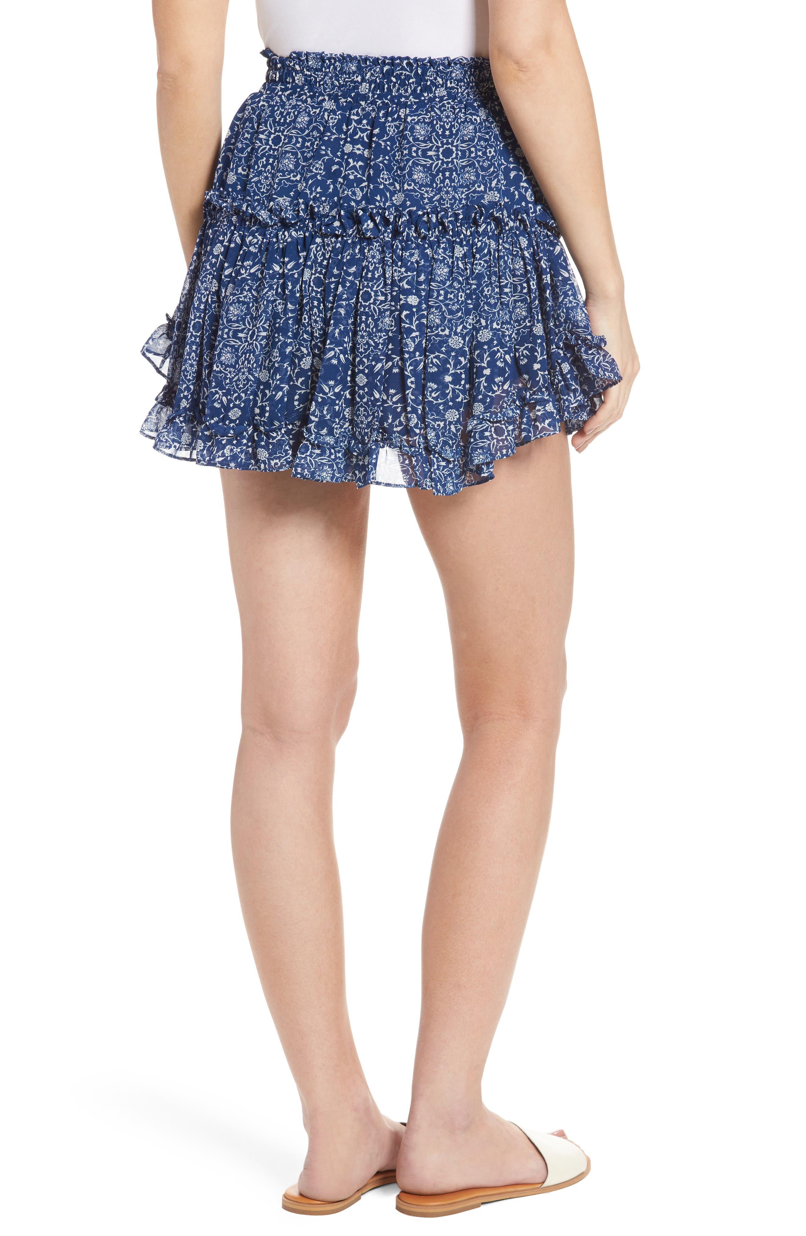 Alternate Image 3  - MISA Los Angeles Marion Miniskirt