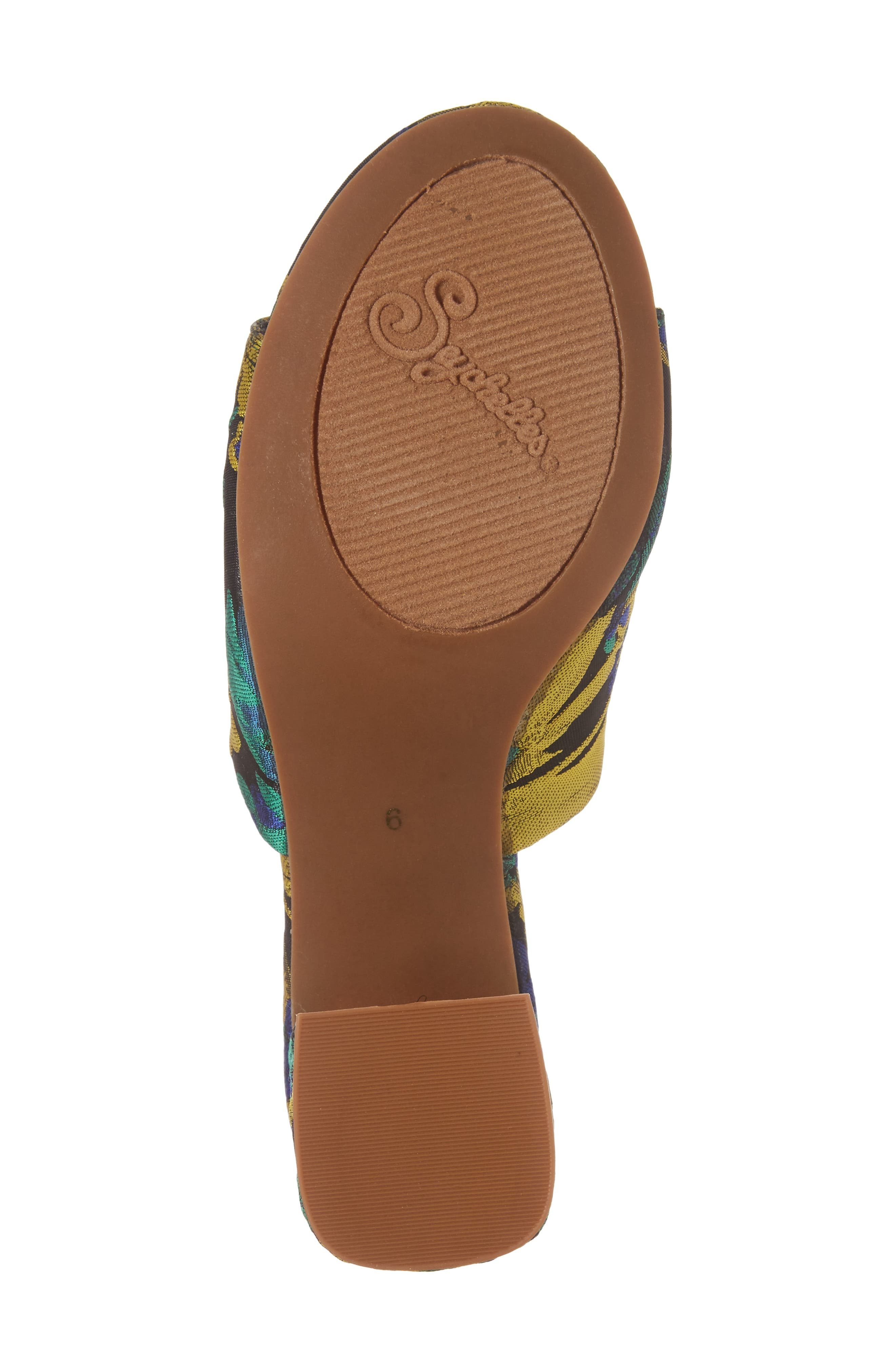 Alternate Image 6  - Seychelles Commute Floral Flared Heel Sandal (Women)