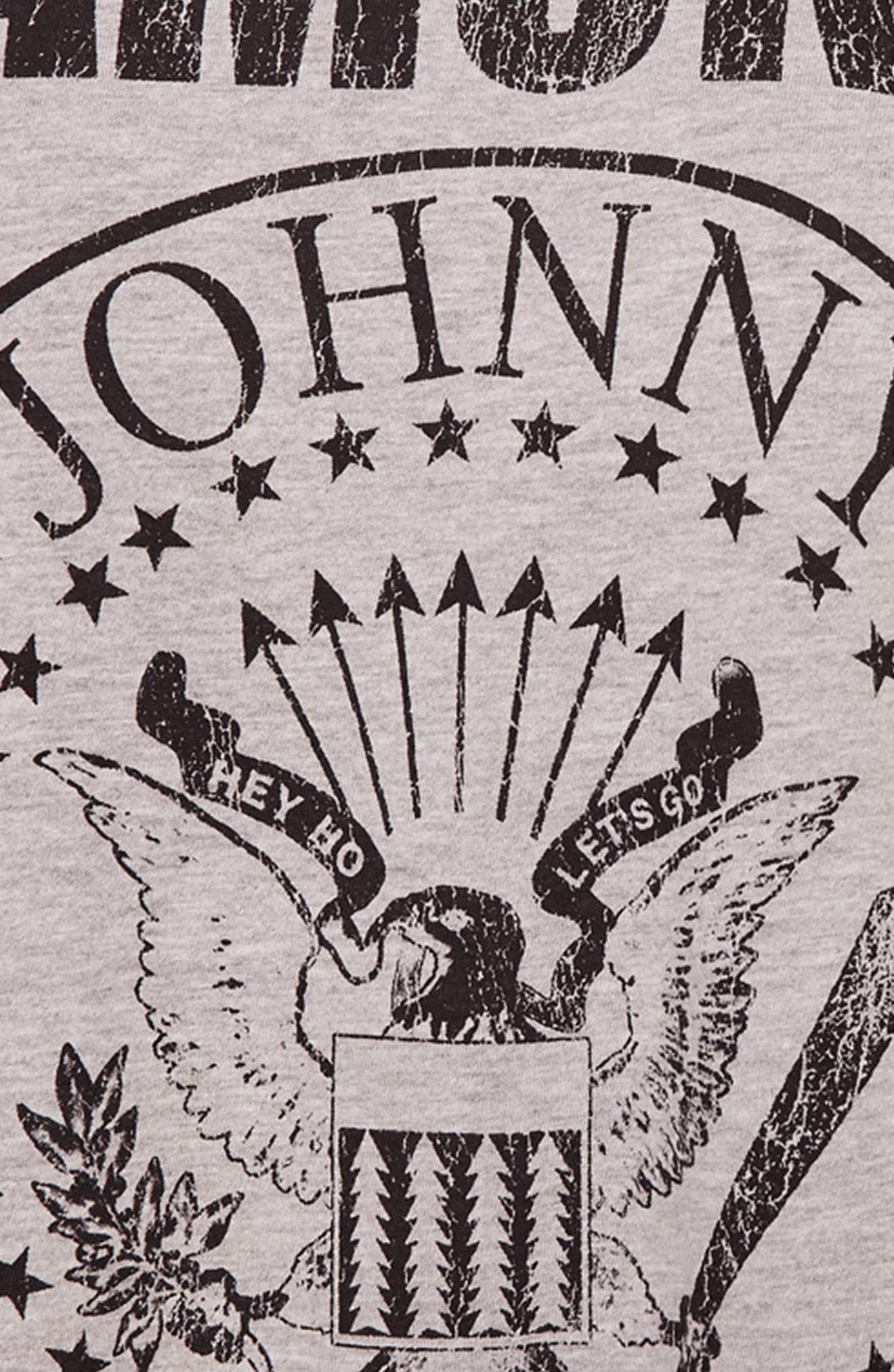 Alternate Image 4  - Missguided Ramones T-Shirt Dress
