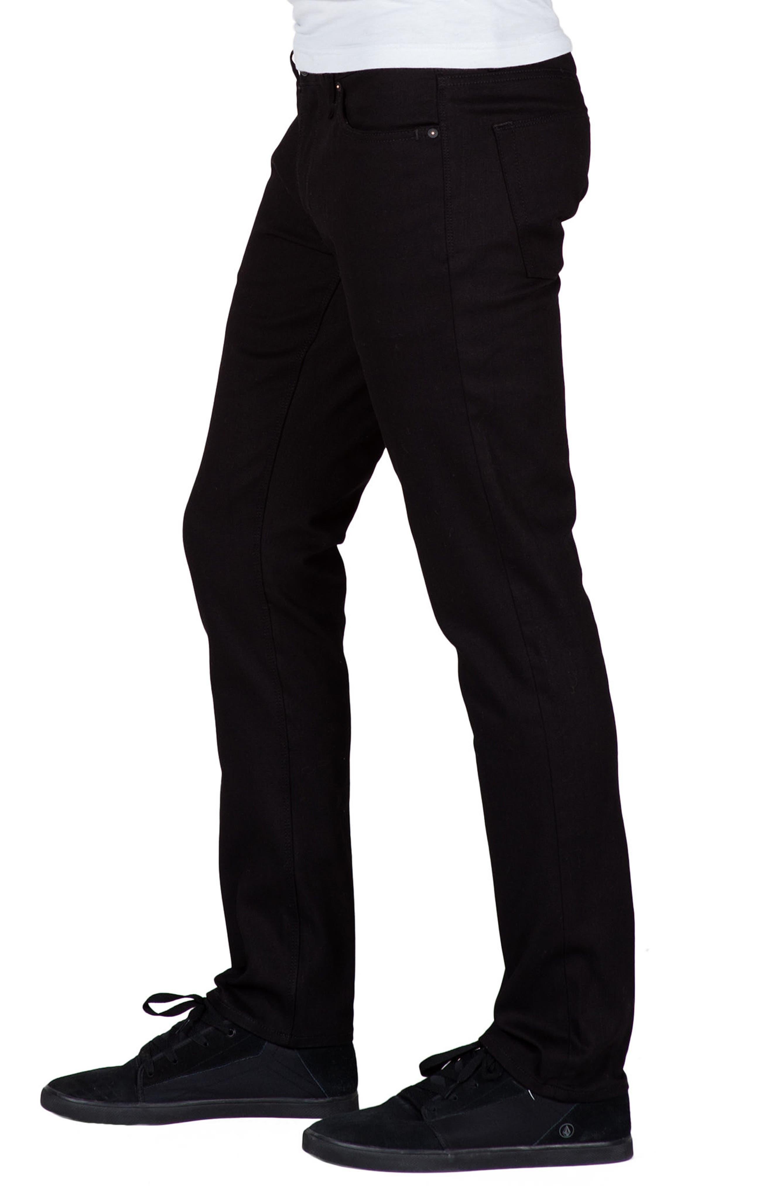 Alternate Image 3  - Volcom Vorta Slim Fit Jeans