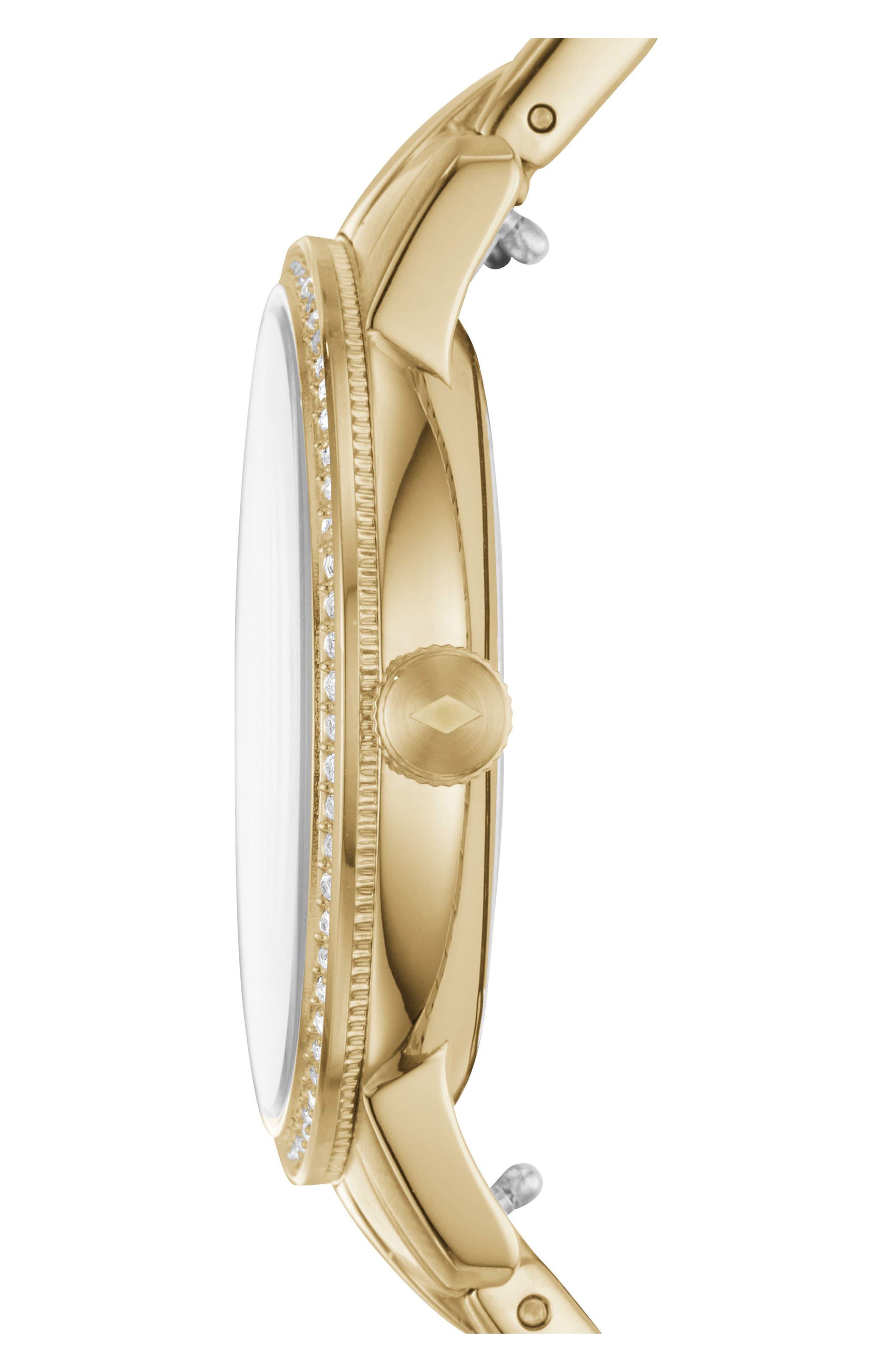 Neely Bracelet Watch, 35mm,                             Alternate thumbnail 2, color,                             Gold