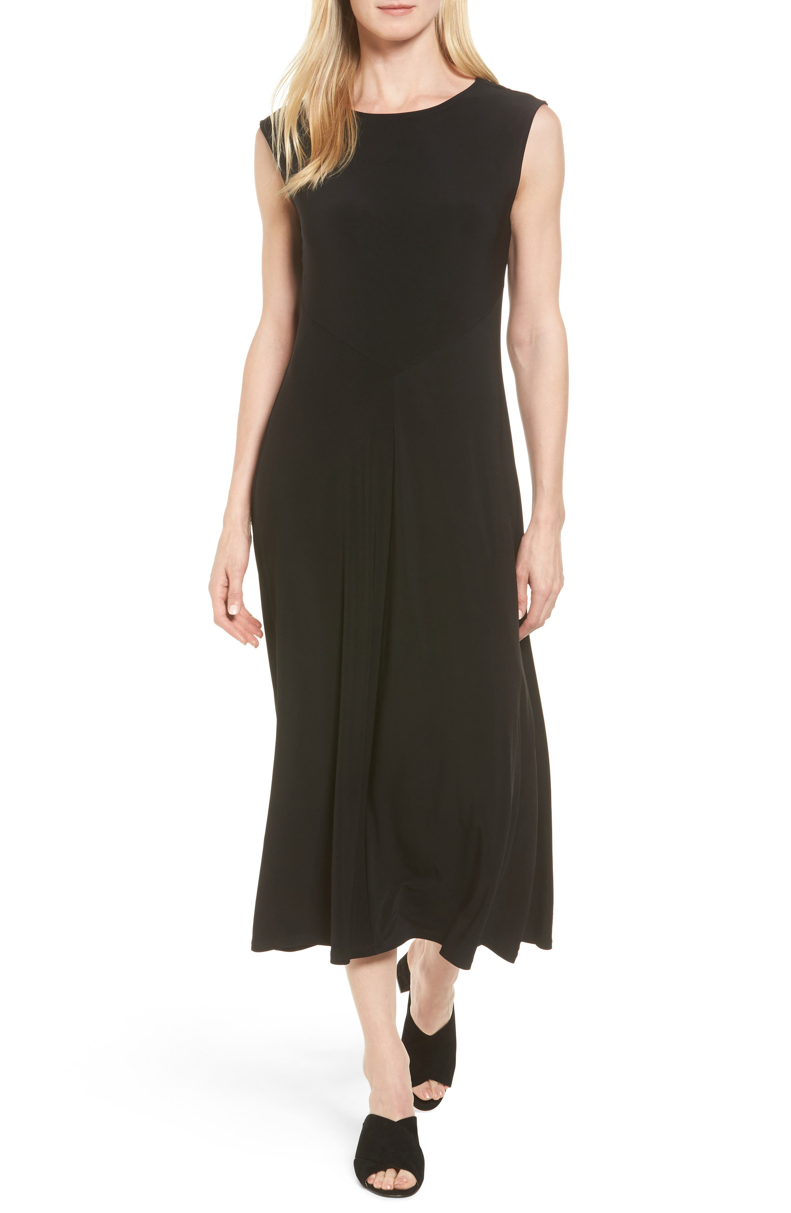 CHAUS Stretch Jersey Maxi Dress
