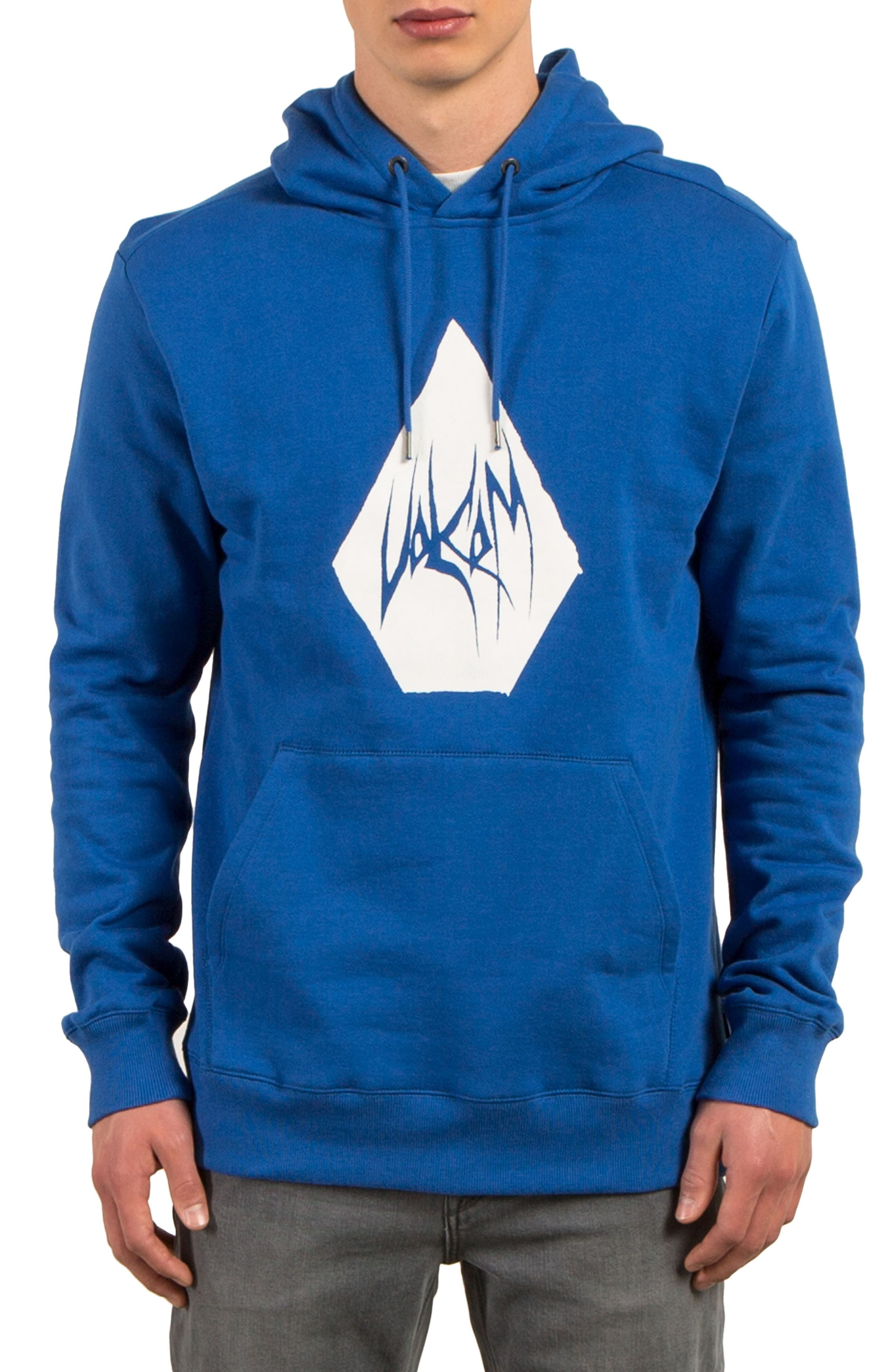 Stone Supply Graphic Hoodie,                         Main,                         color, Blue True