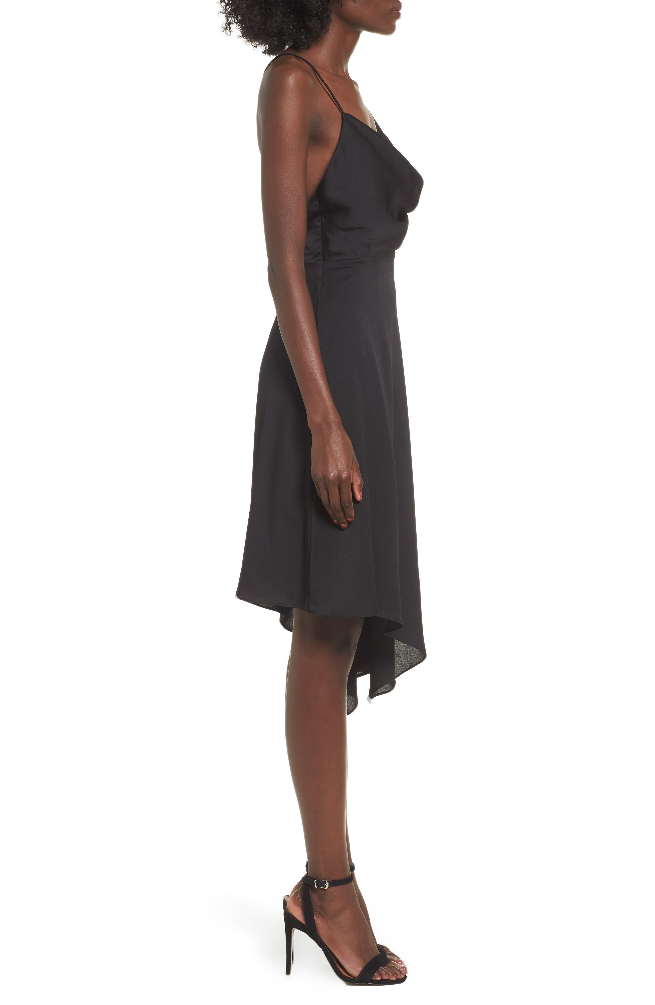 Alternate Image 4  - Keepsake the Label Sidelines Chiffon Midi Dress