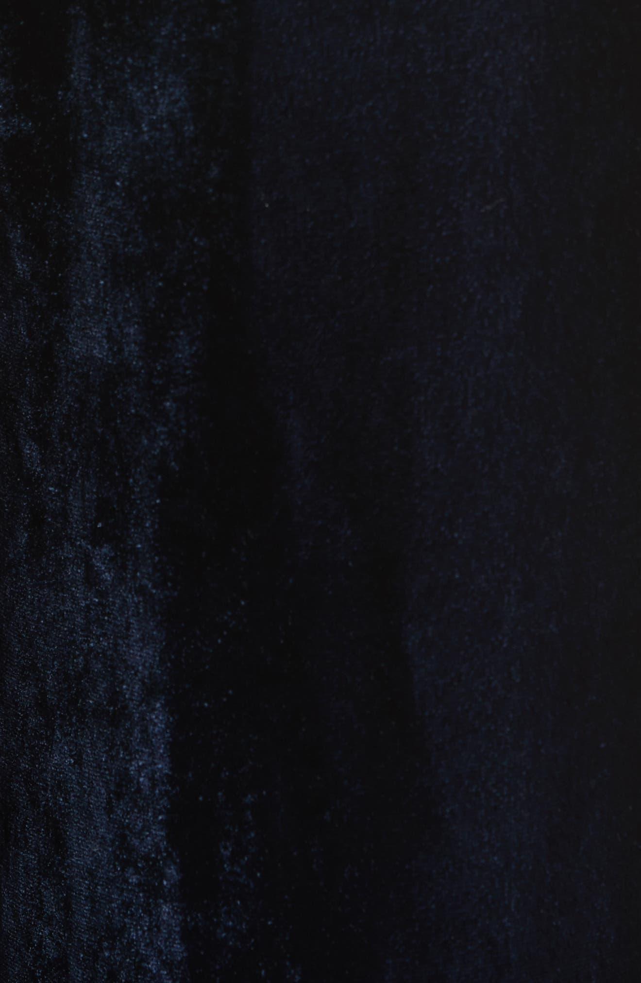 Alternate Image 5  - Nili Lotan Harlow Sandwashed Velvet Pants