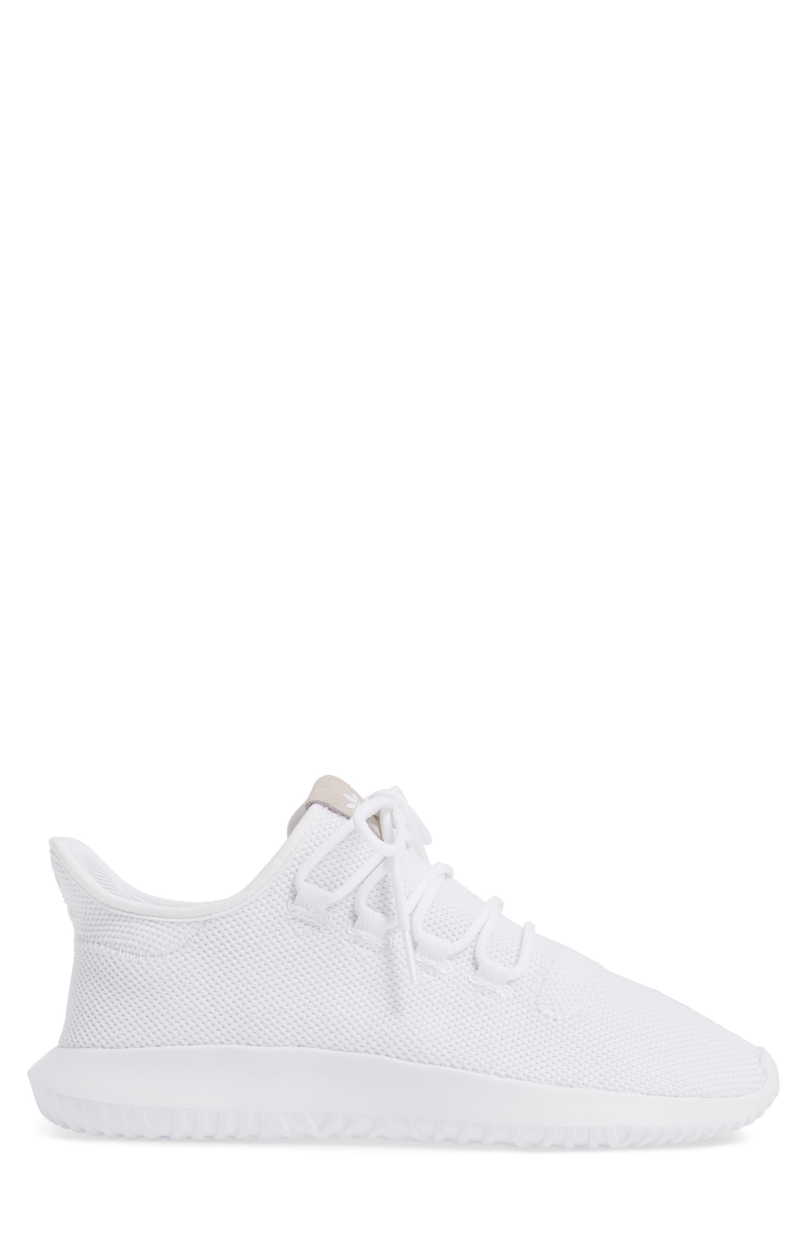 Tubular Shadow Sneaker,                             Alternate thumbnail 3, color,                             White/ Core Black/ White