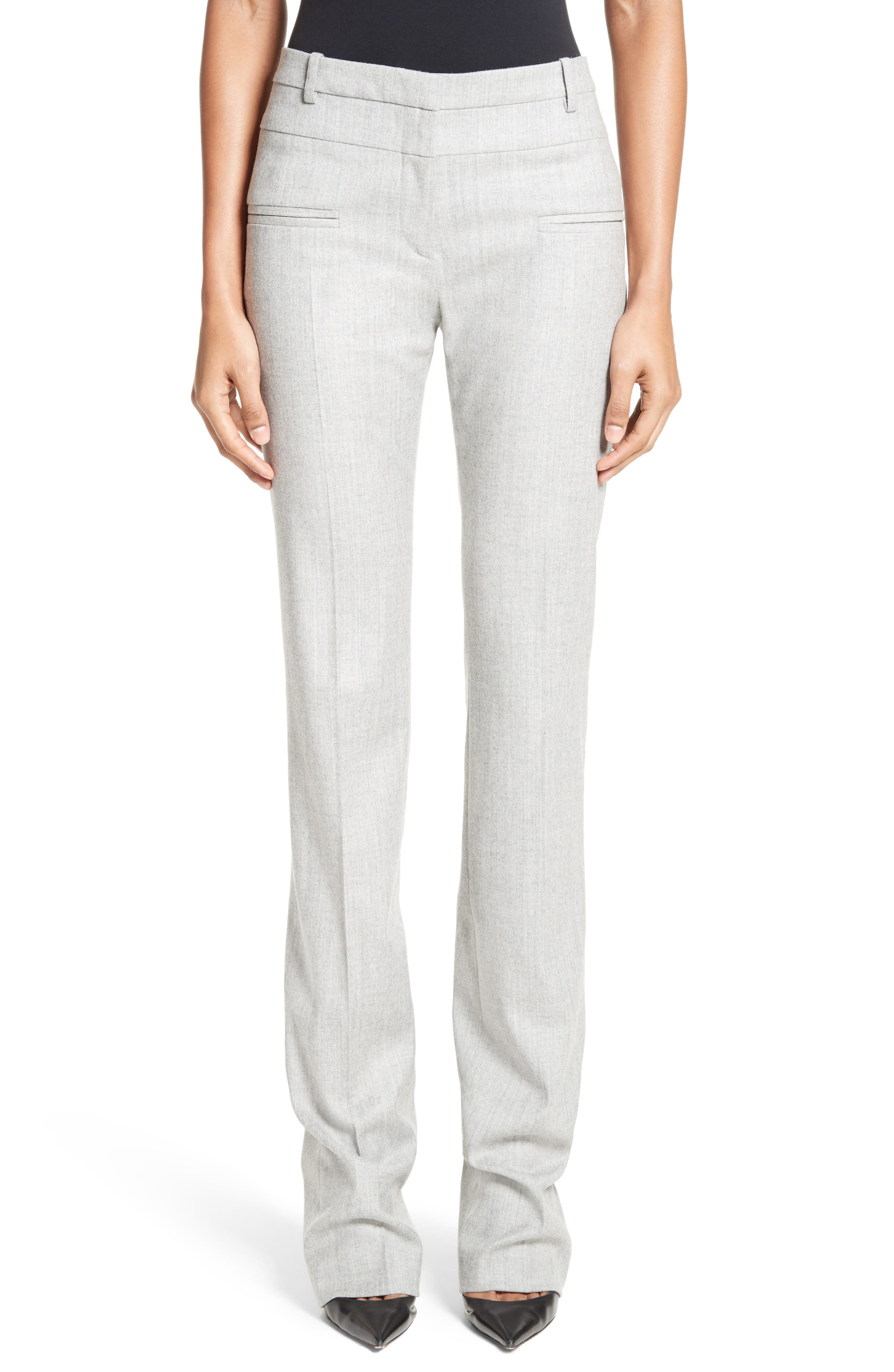 Altuzarra Jane Stretch Wool Bootleg Pants