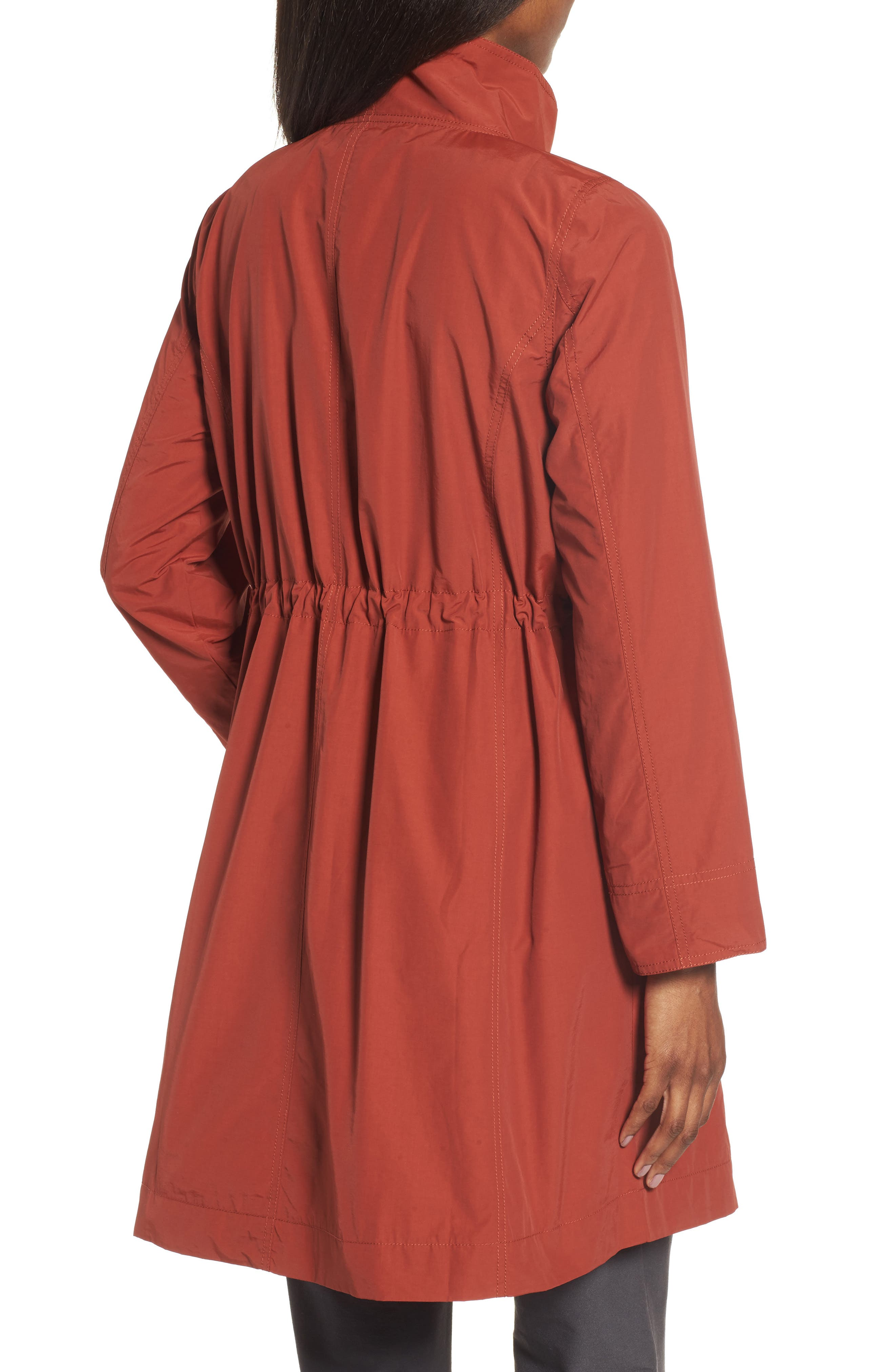 Alternate Image 2  - Eileen Fisher Long Organic Cotton Blend Jacket