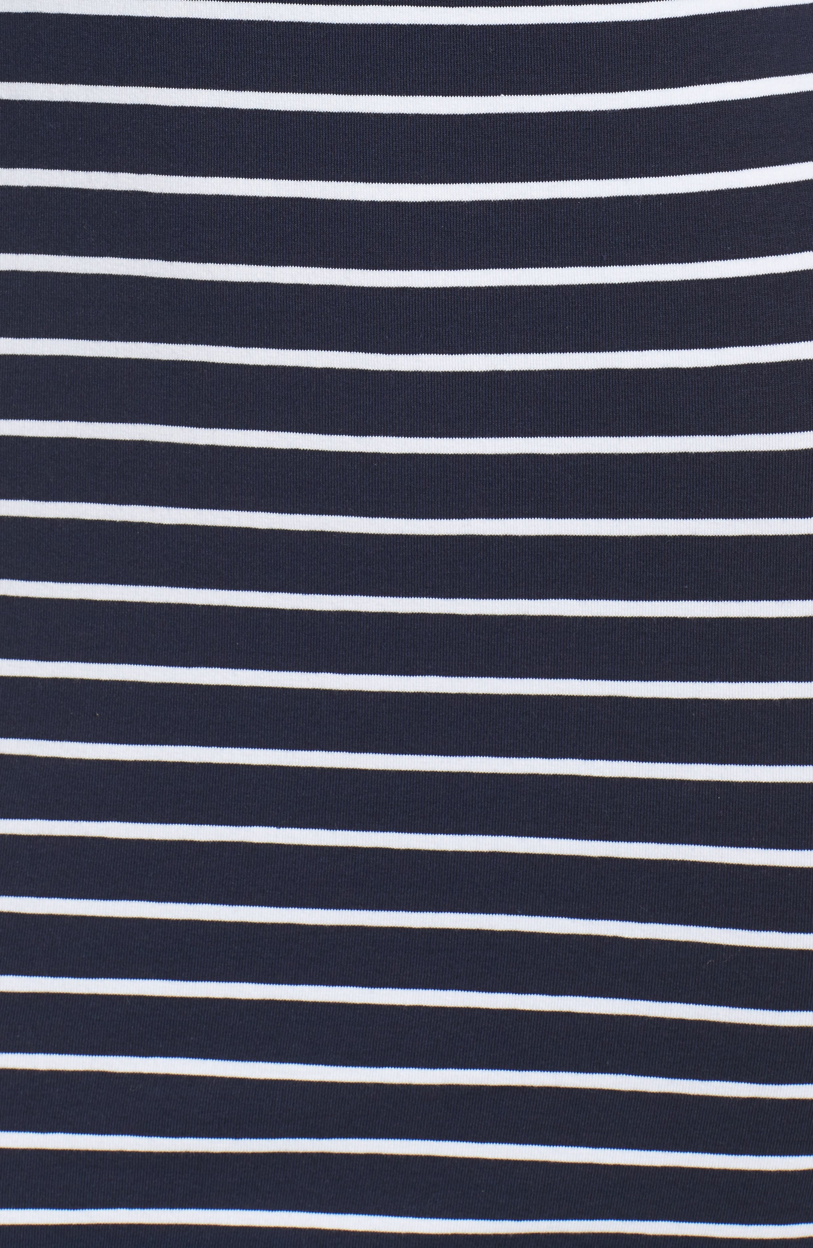 Alternate Image 5  - French Connection Stripe T-Shirt Dress