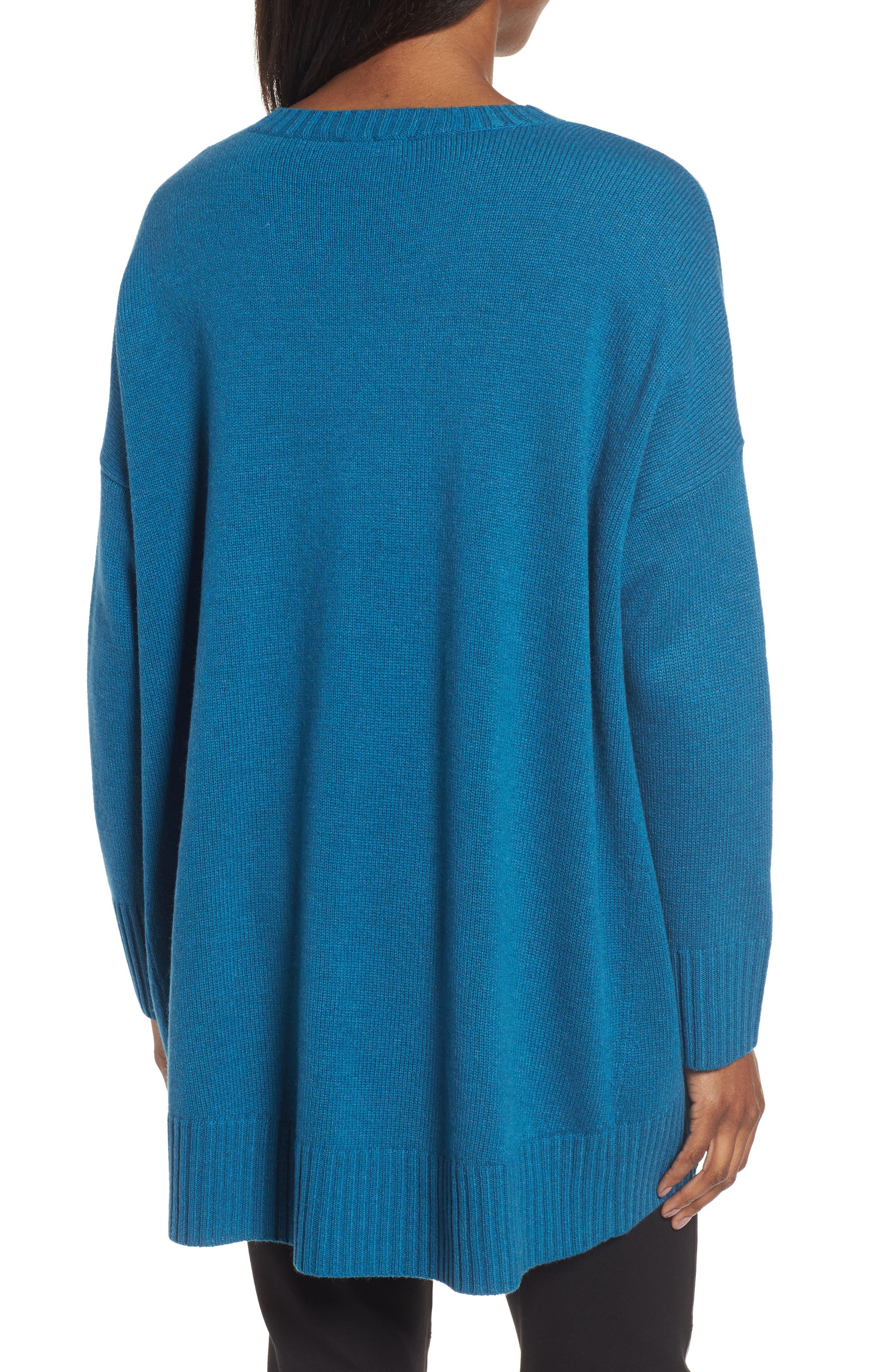 Alternate Image 2  - Eileen Fisher Cashmere & Wool Blend Oversize Sweater