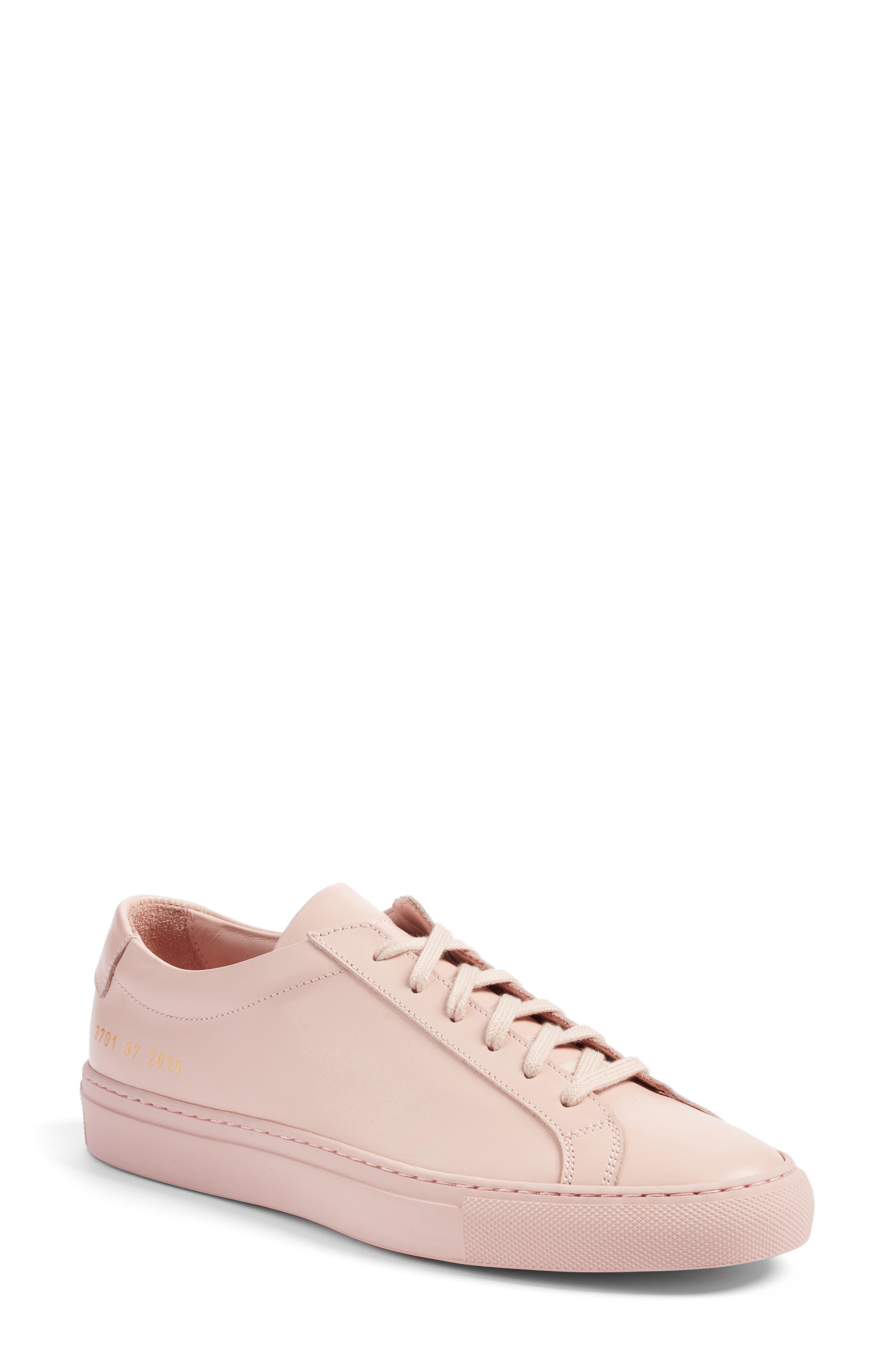 Original Achilles Sneaker,                             Main thumbnail 1, color,                             Blush Leather