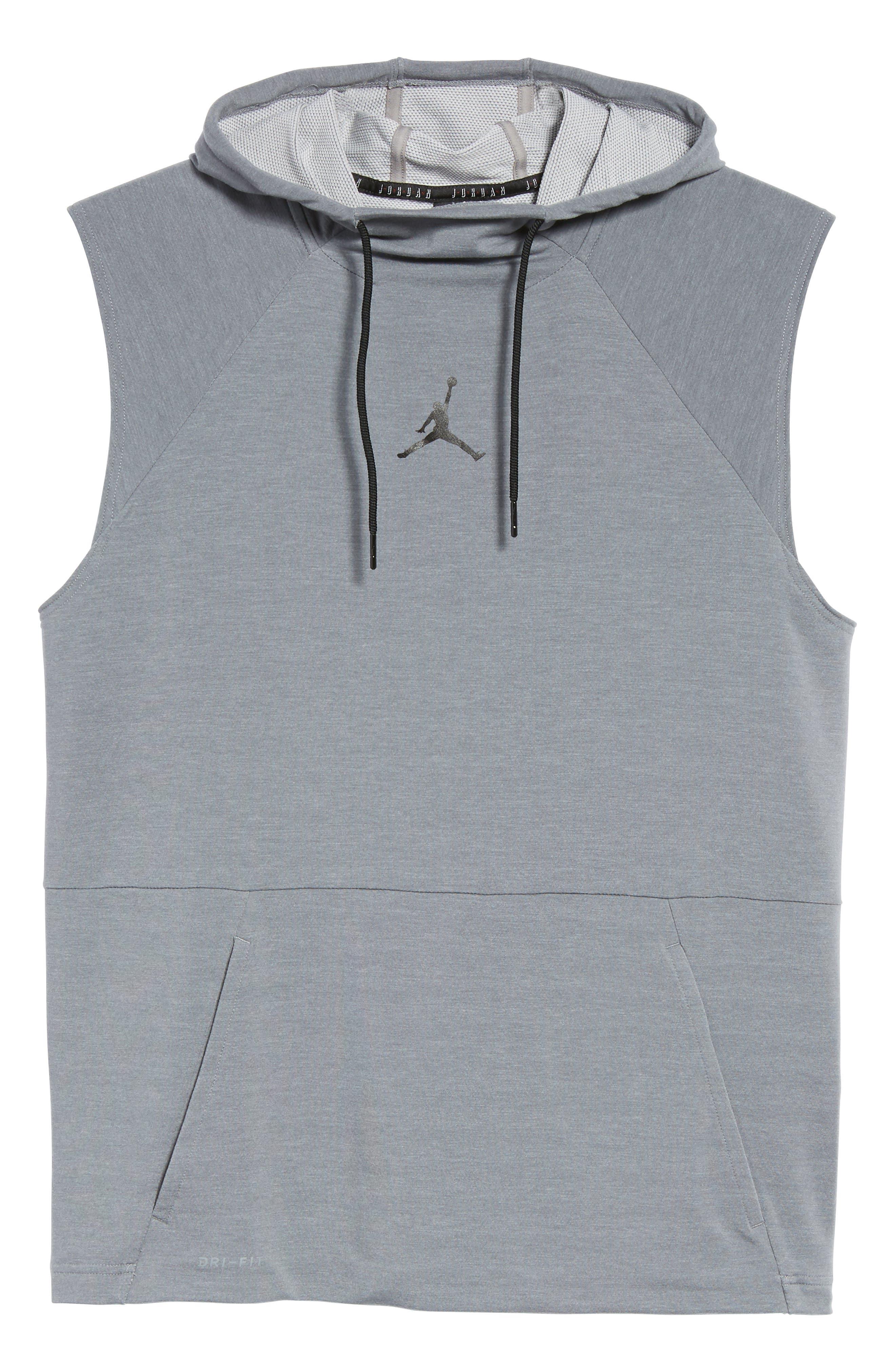 Alternate Image 6  - Nike Jordan 23 Tech Sphere Sleeveless Training Hoodie