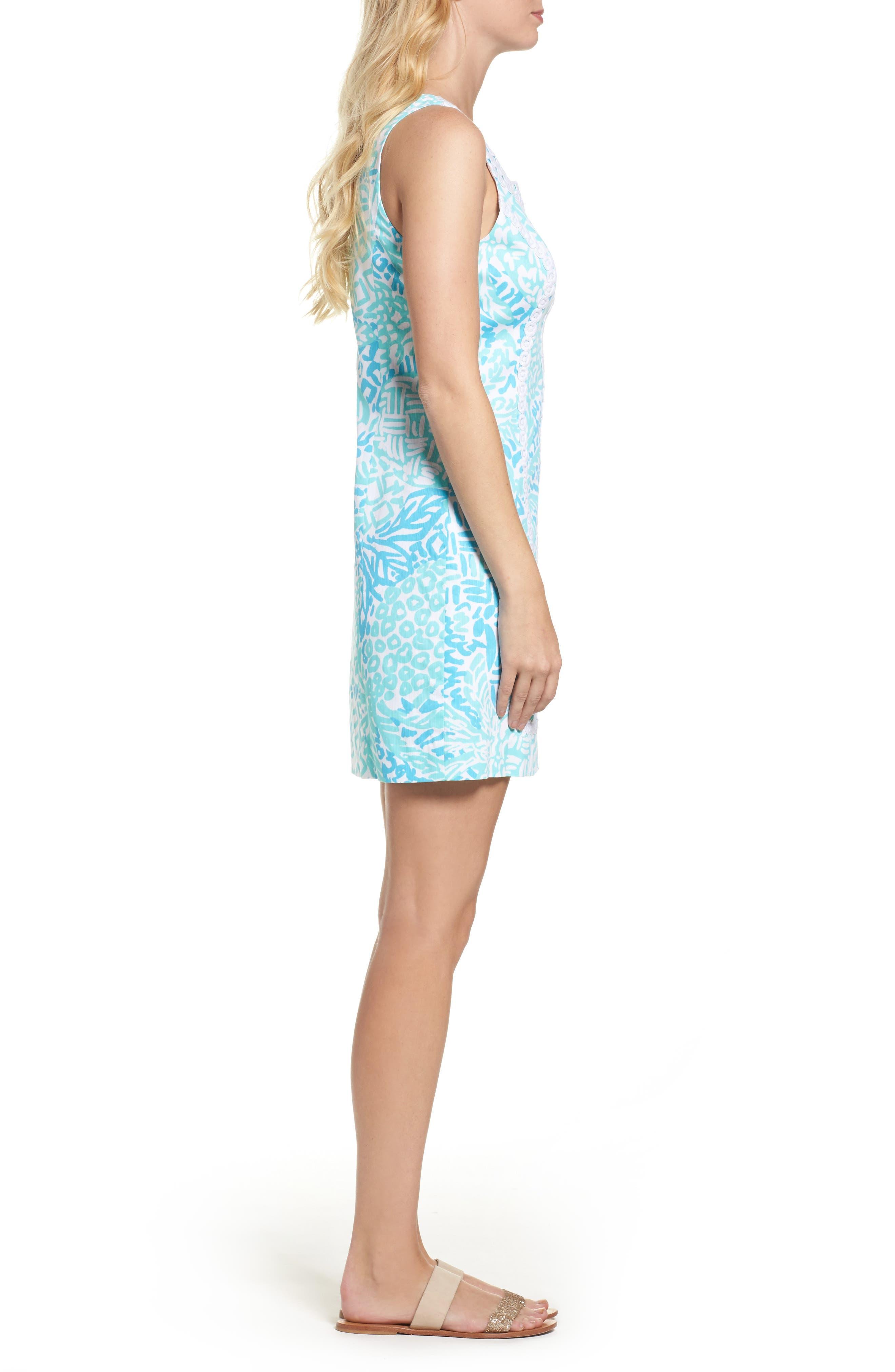McFarlane Sheath dress,                             Alternate thumbnail 3, color,                             Seaside Aqua Home Slice