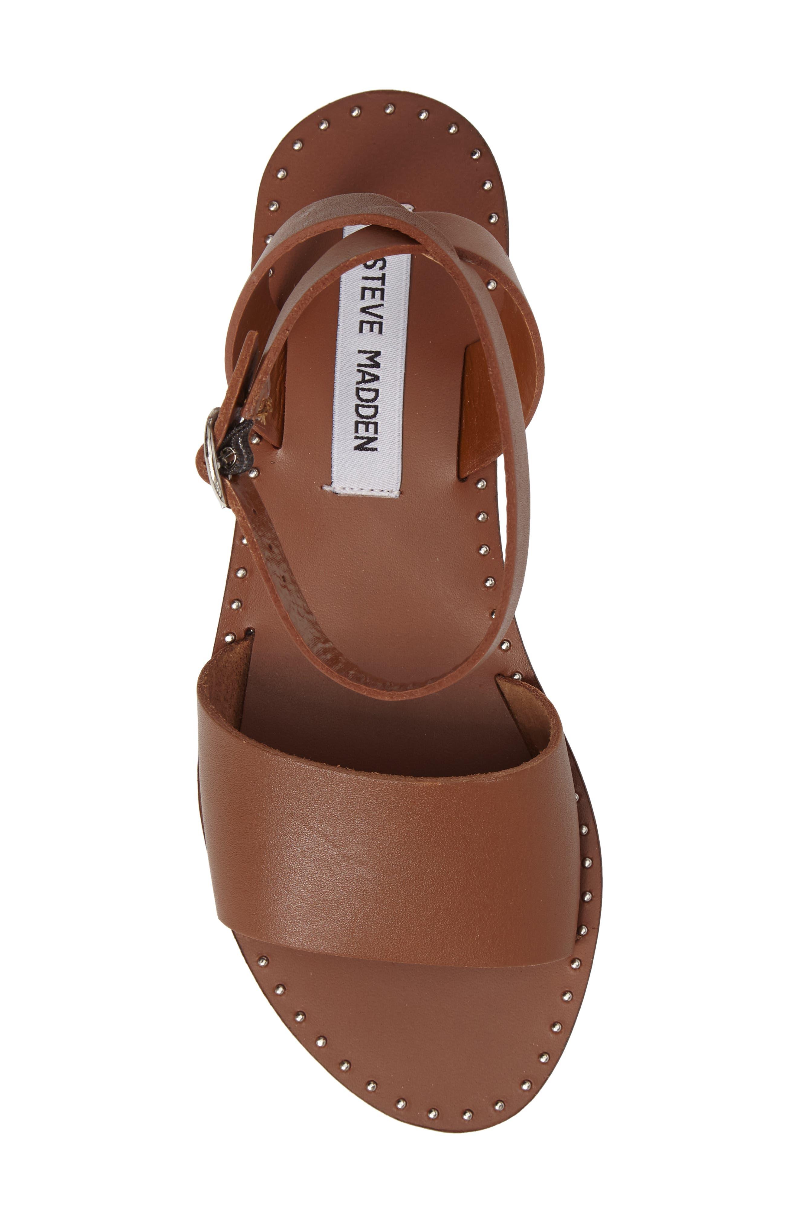 Alternate Image 5  - Steve Madden Danny Ankle Strap Sandal (Women)