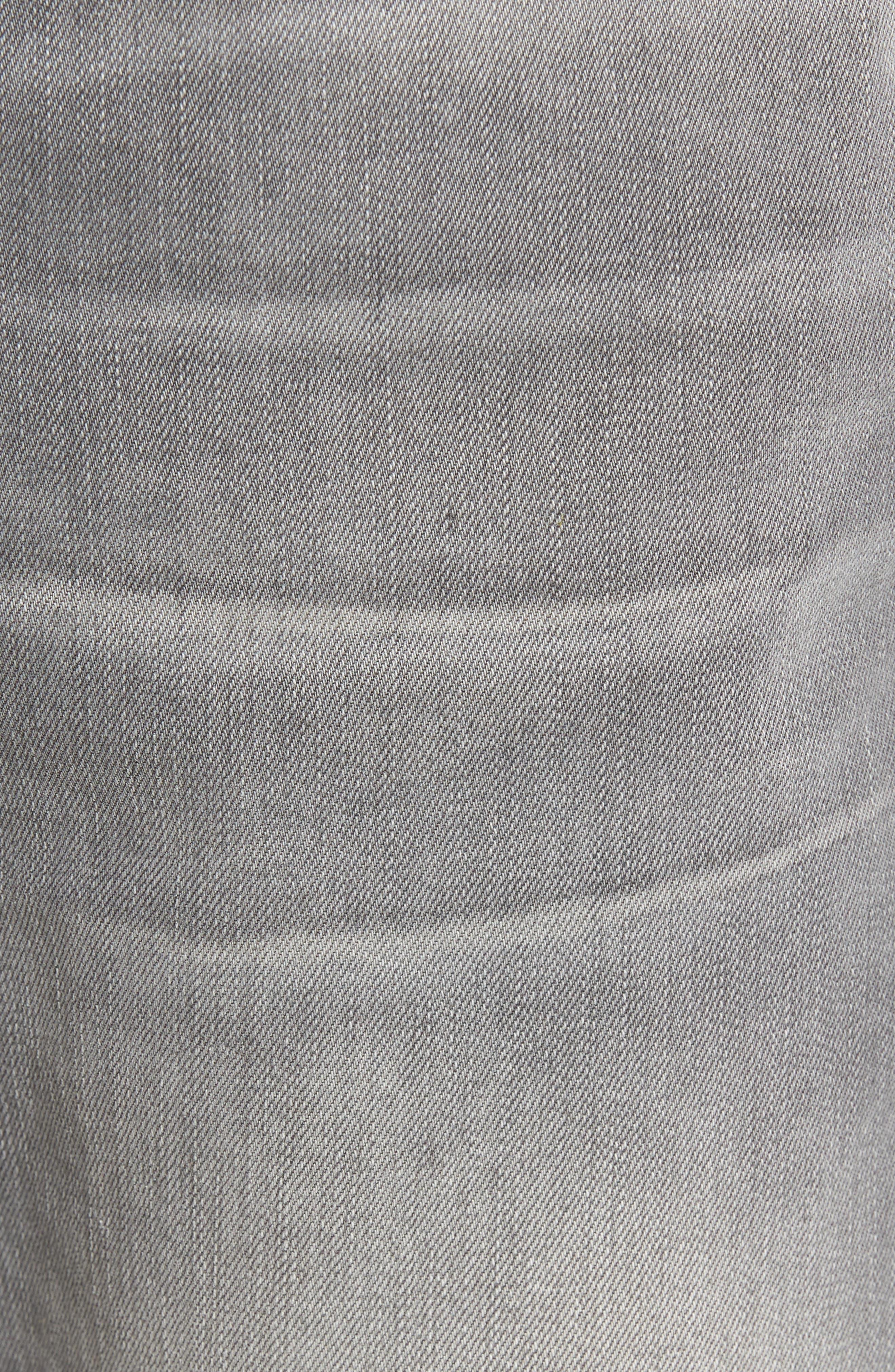 Alternate Image 5  - Nudie Jeans Lean Dean Slouchy Skinny Fit Jeans (Grey Ace)