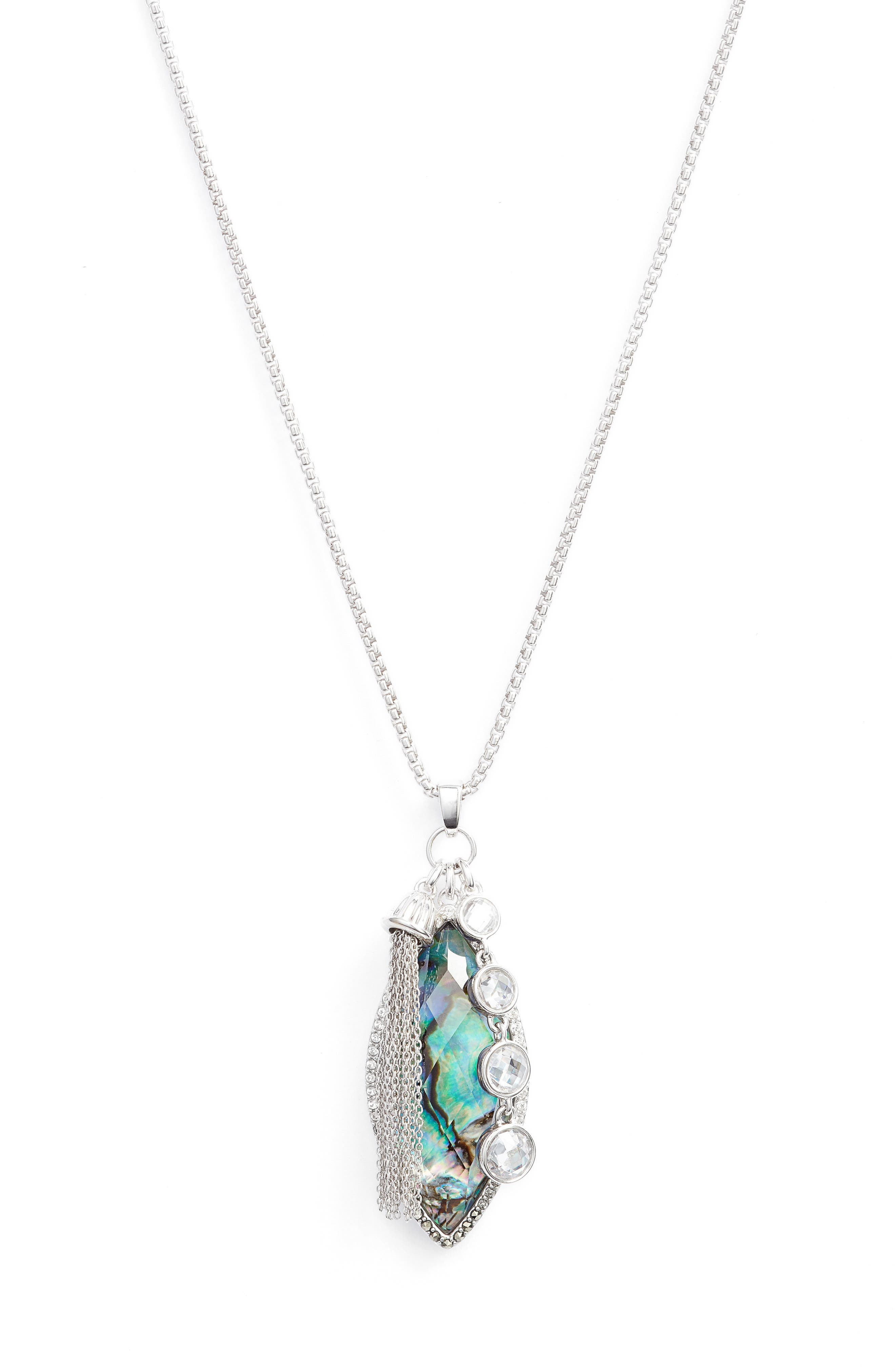 Main Image - Judith Jack Tropical Touches Pendant Necklace