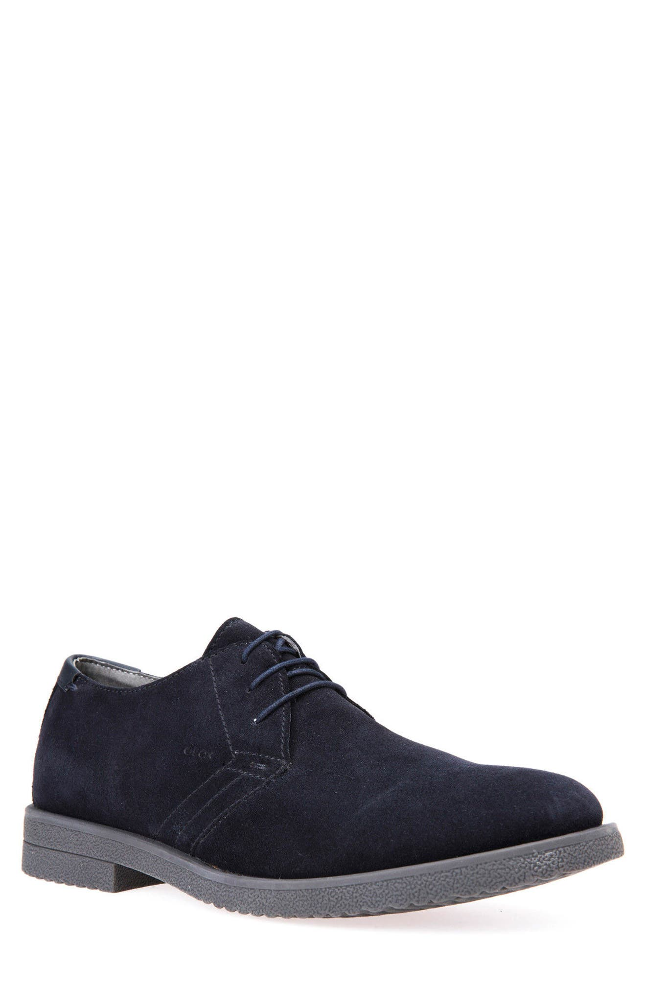 Alternate Image 1 Selected - Geox Brandled Buck Shoe (Men)