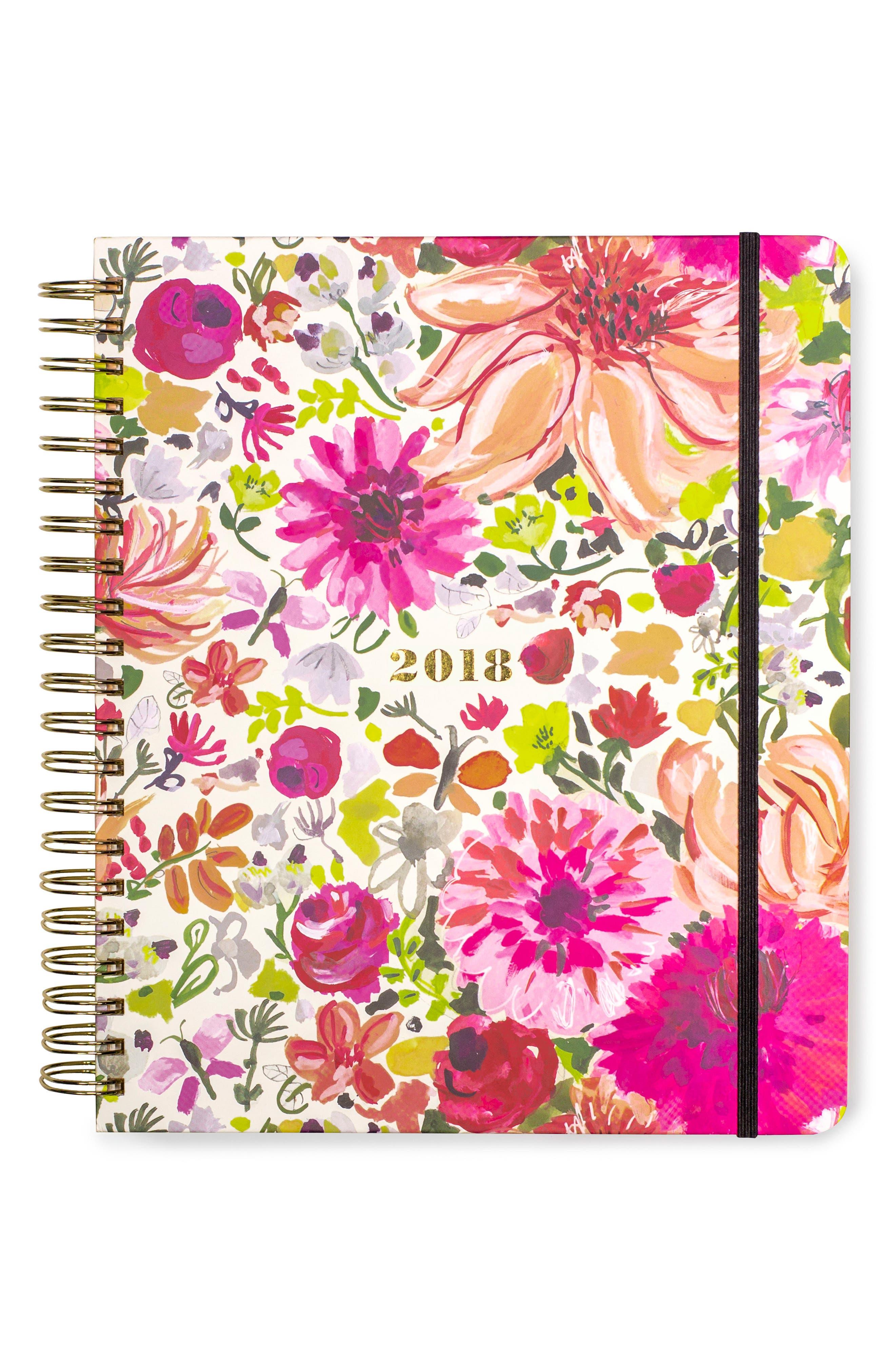 mega 17-month agenda,                         Main,                         color, Dahlia