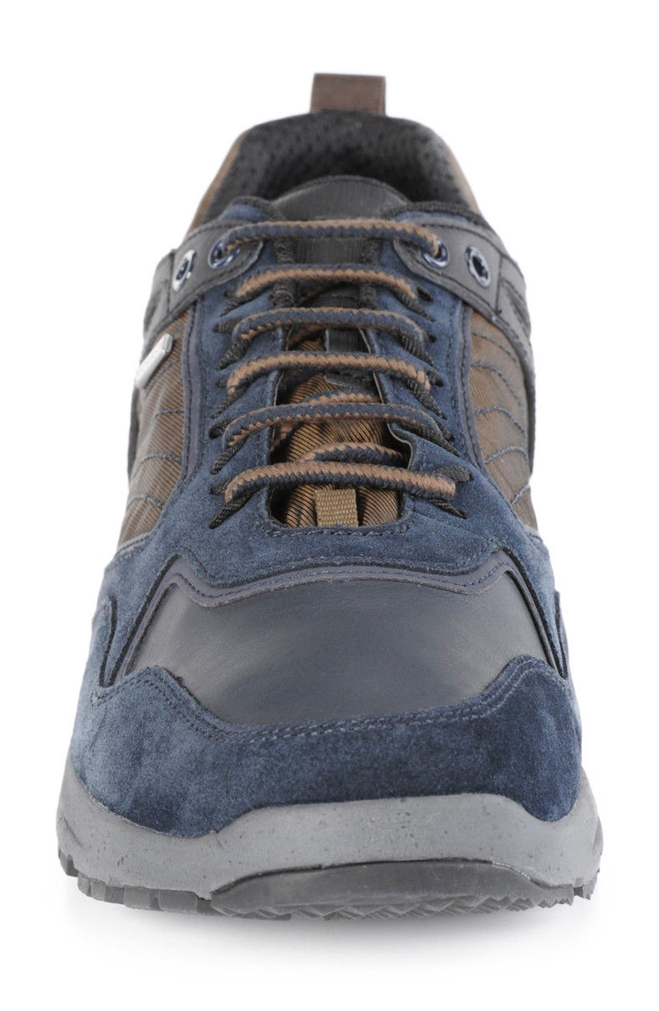 Gegy ABX Waterproof Sneaker,                             Alternate thumbnail 4, color,                             Navy/ Musk