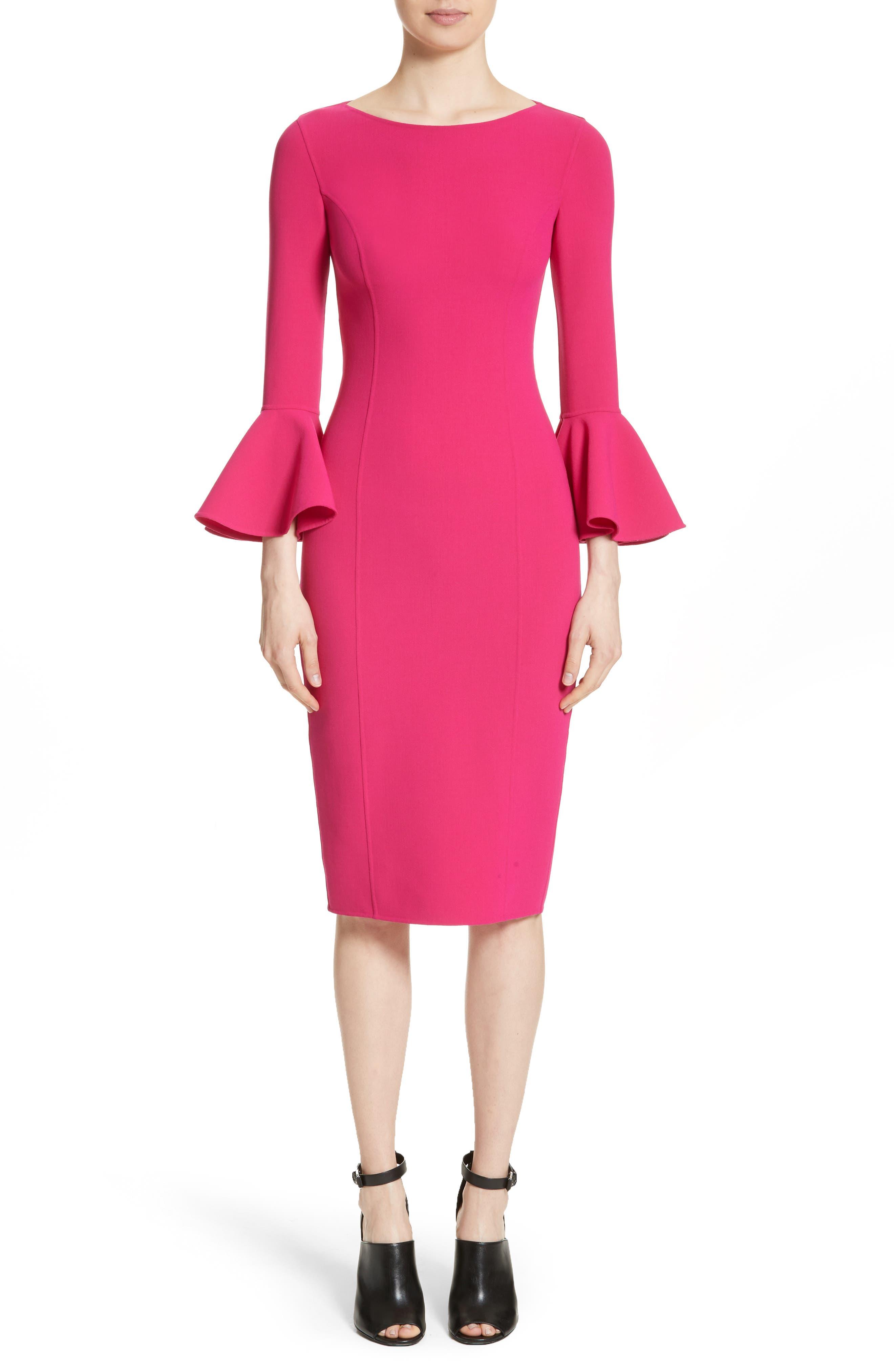 Alternate Image 1 Selected - Michael Kors Bell Cuff Sheath Dress