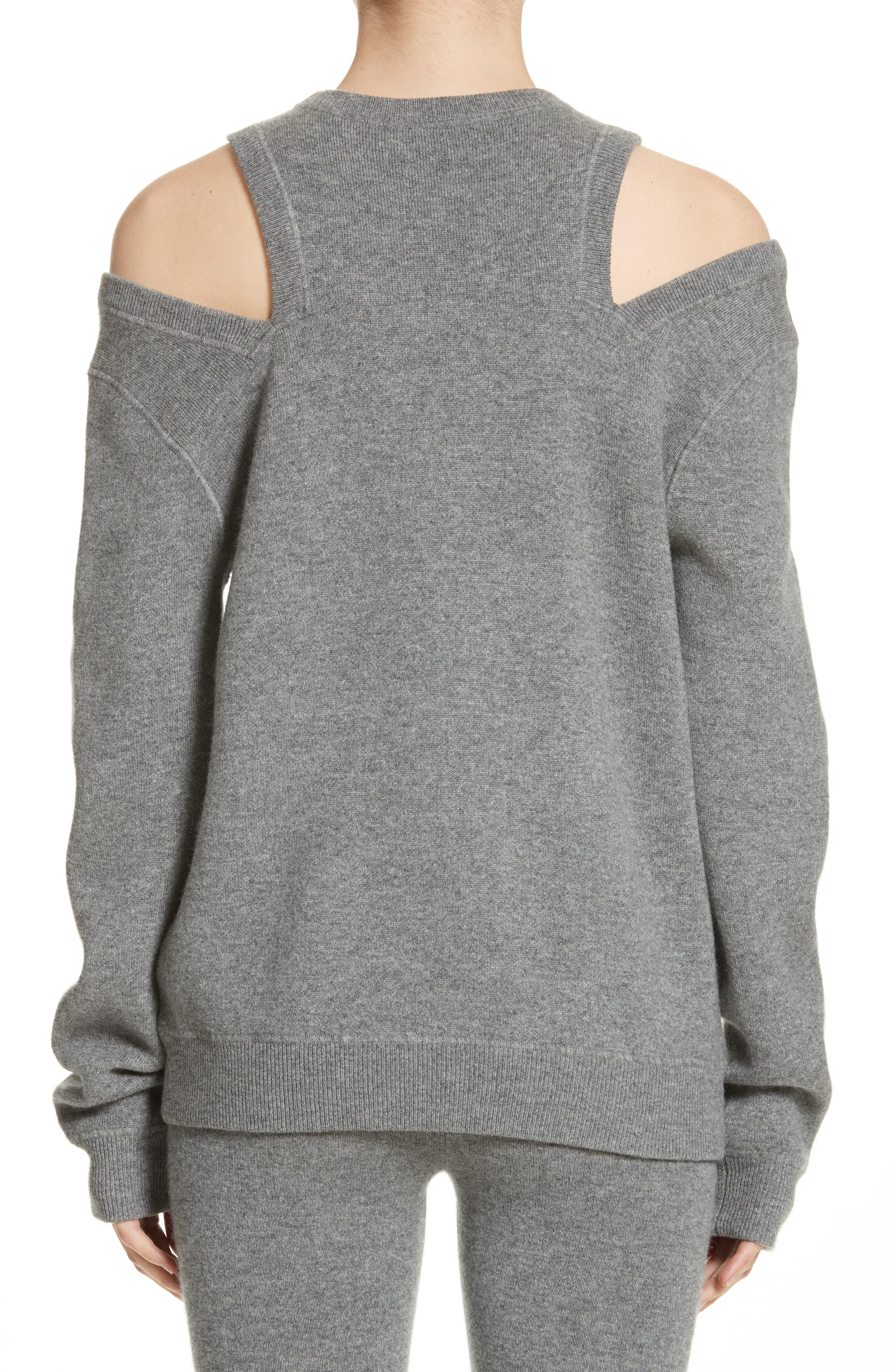 Alternate Image 2  - Michael Kors Cold Shoulder Sweater