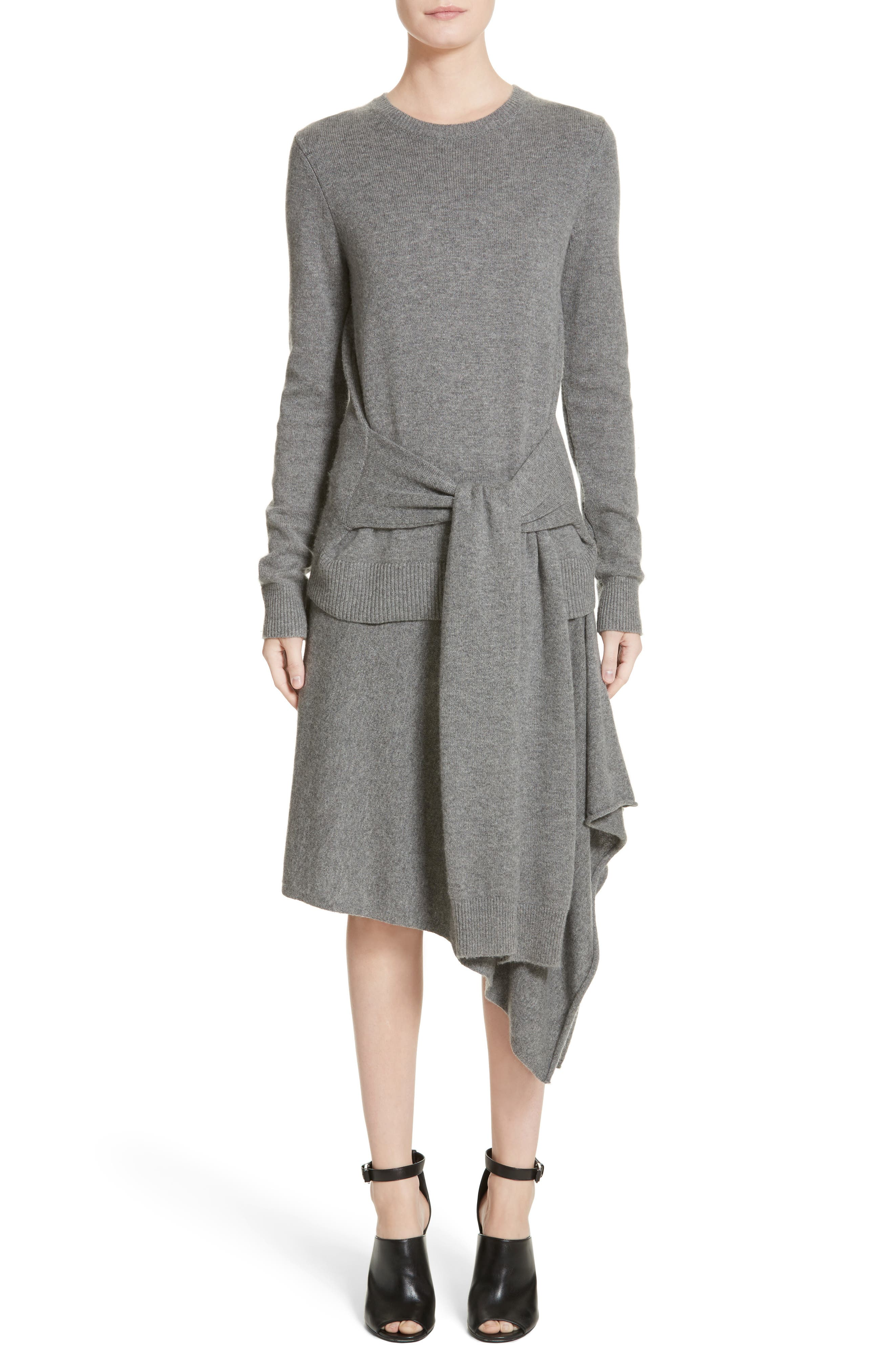 Michael Kors Sleeve Tie Cashmere Sweater