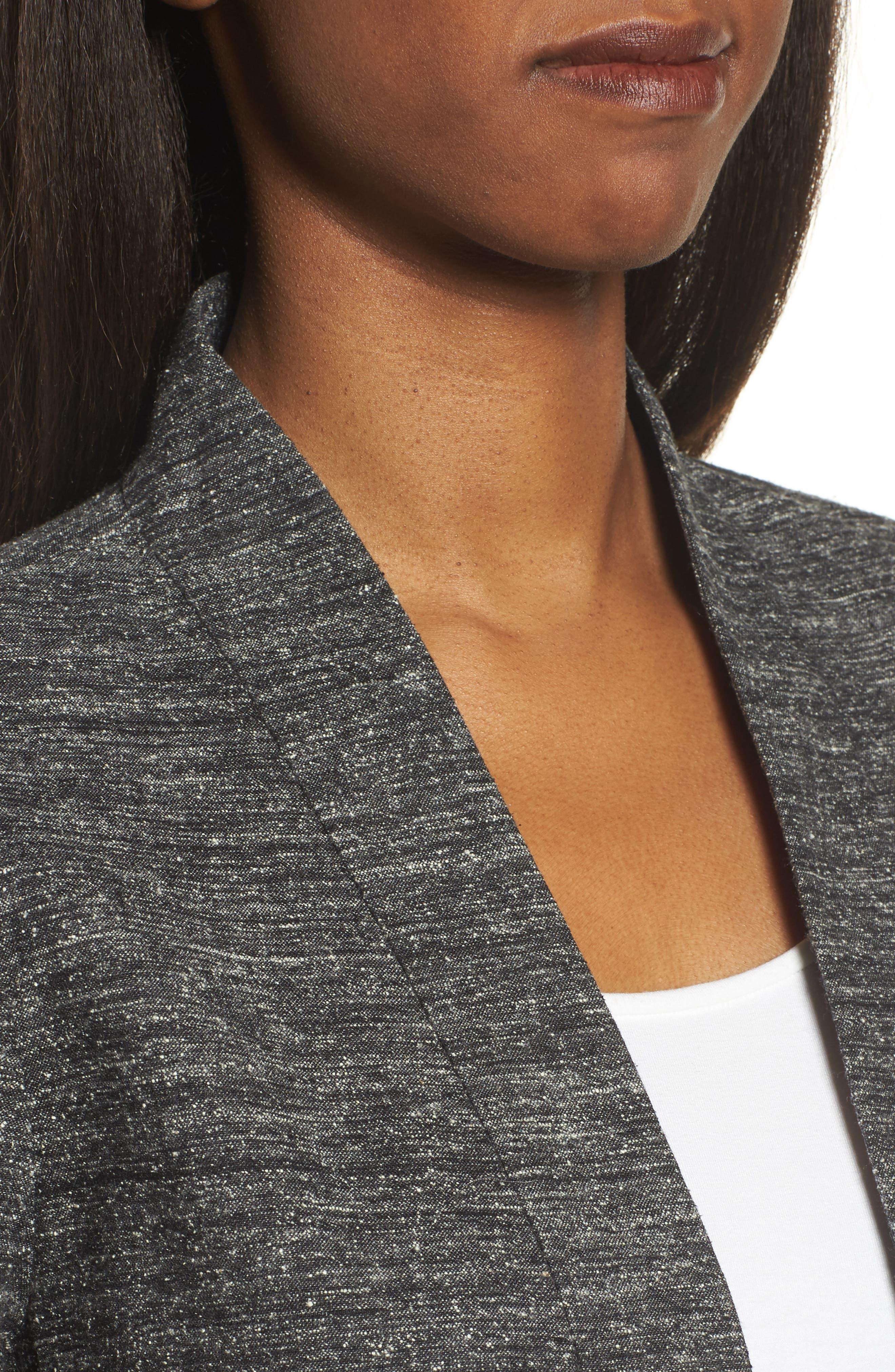 Alternate Image 5  - Eileen Fisher Silk & Organic Linen Duster
