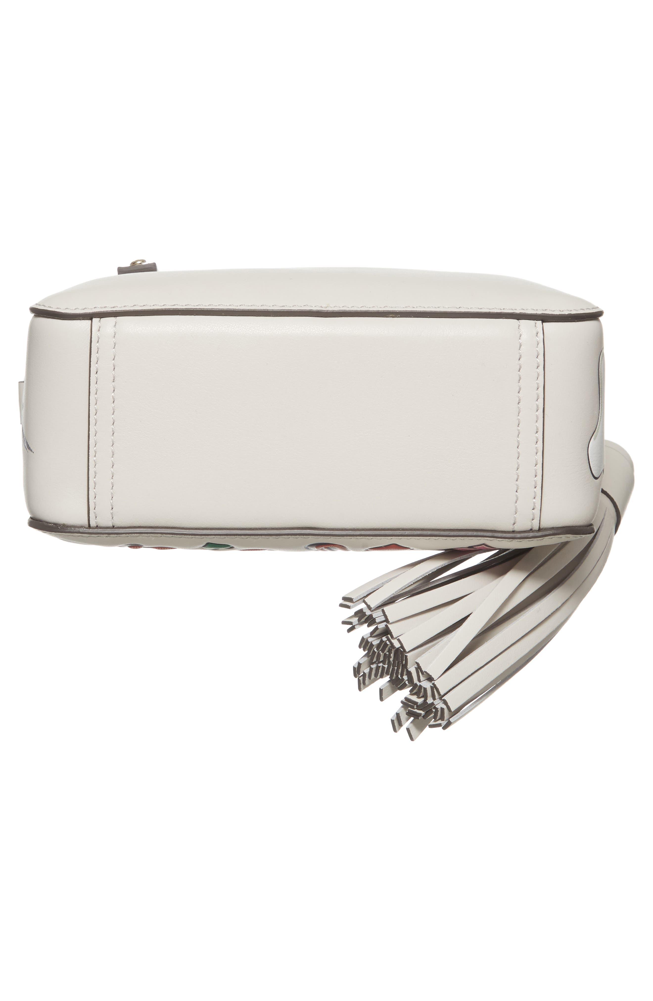 Alternate Image 6  - Anya Hindmarch Allover Sticker Leather Crossbody Bag