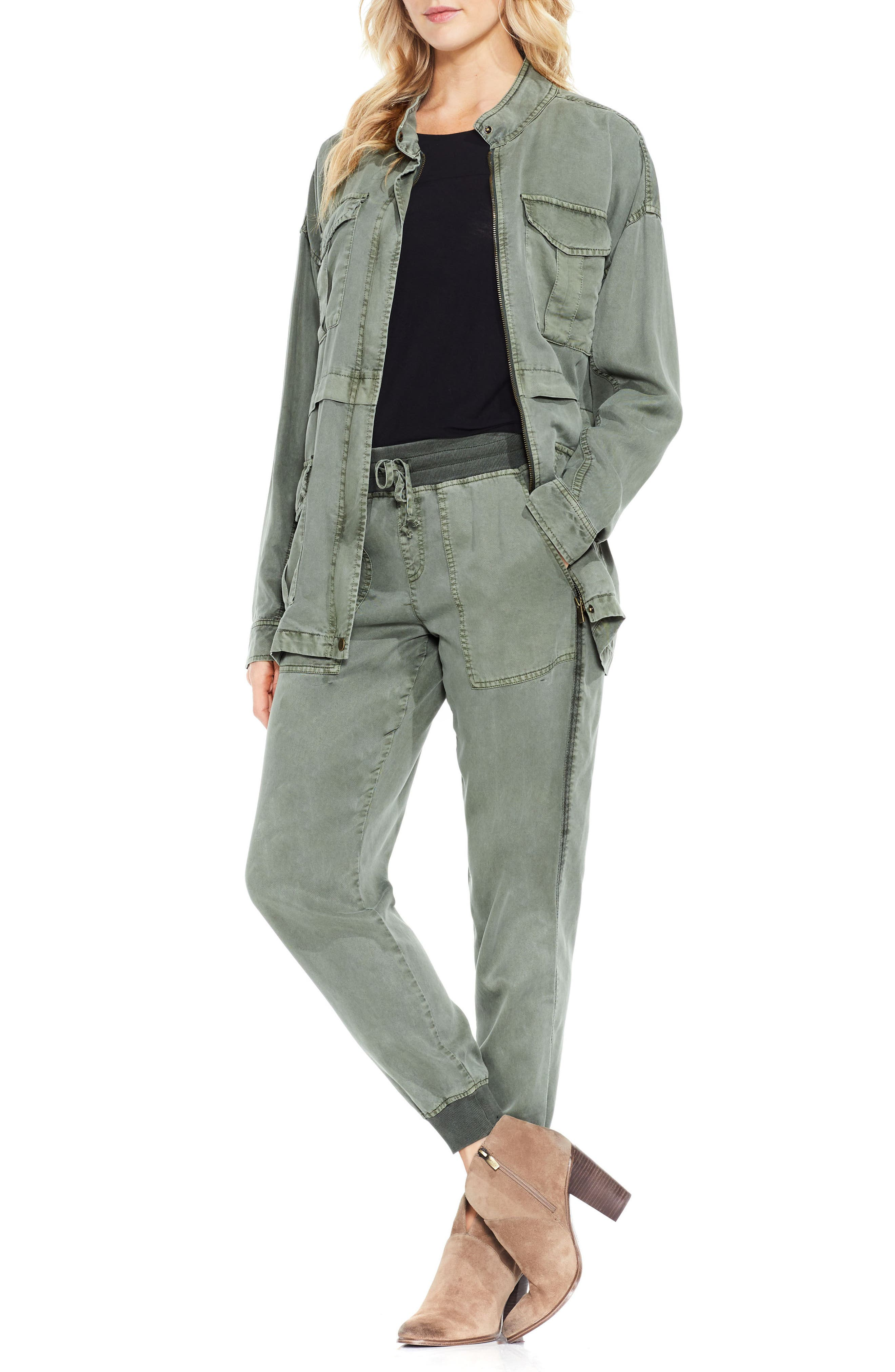 Alternate Image 2  - Two by Vince Camuto Twill Cargo Jacket