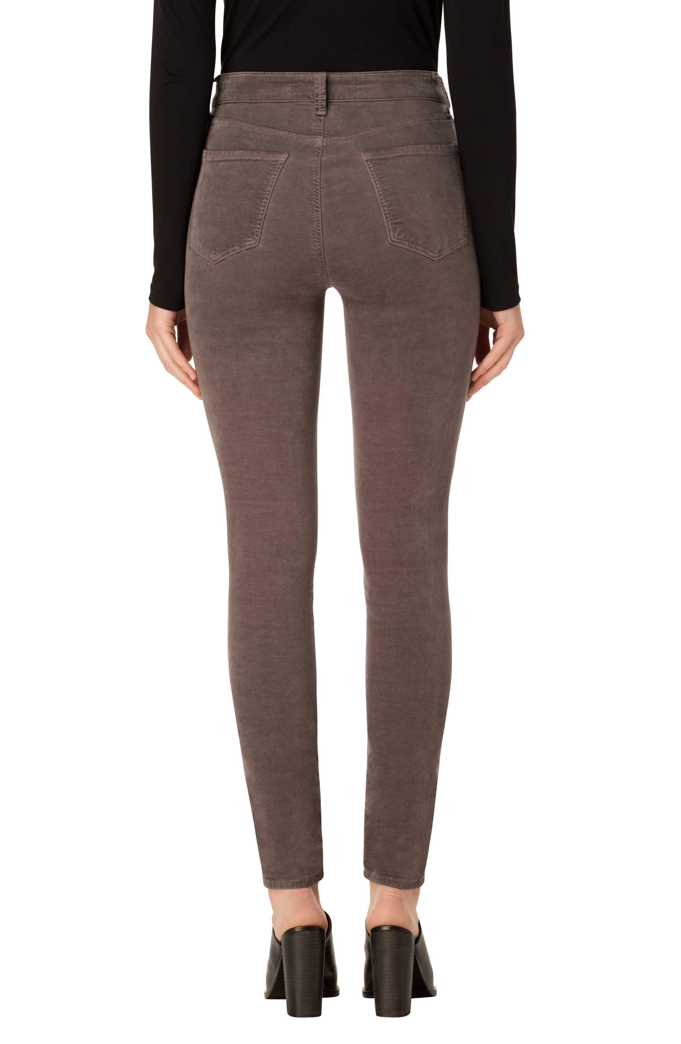 Alternate Image 2  - J Brand Maria High Waist Velvet Skinny Jeans