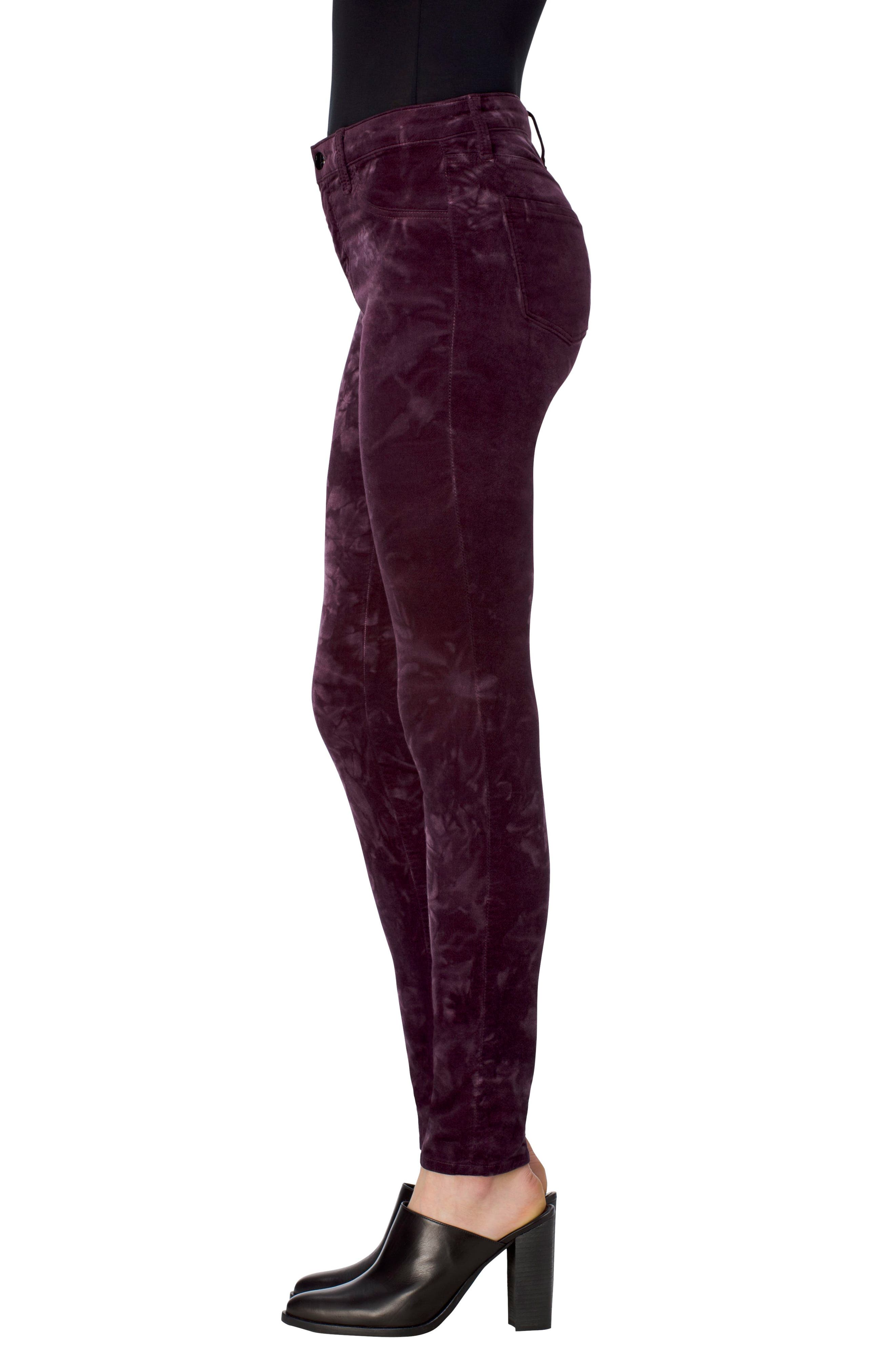 Alternate Image 3  - J Brand '815' Mid Rise Velveteen Super Skinny Jeans