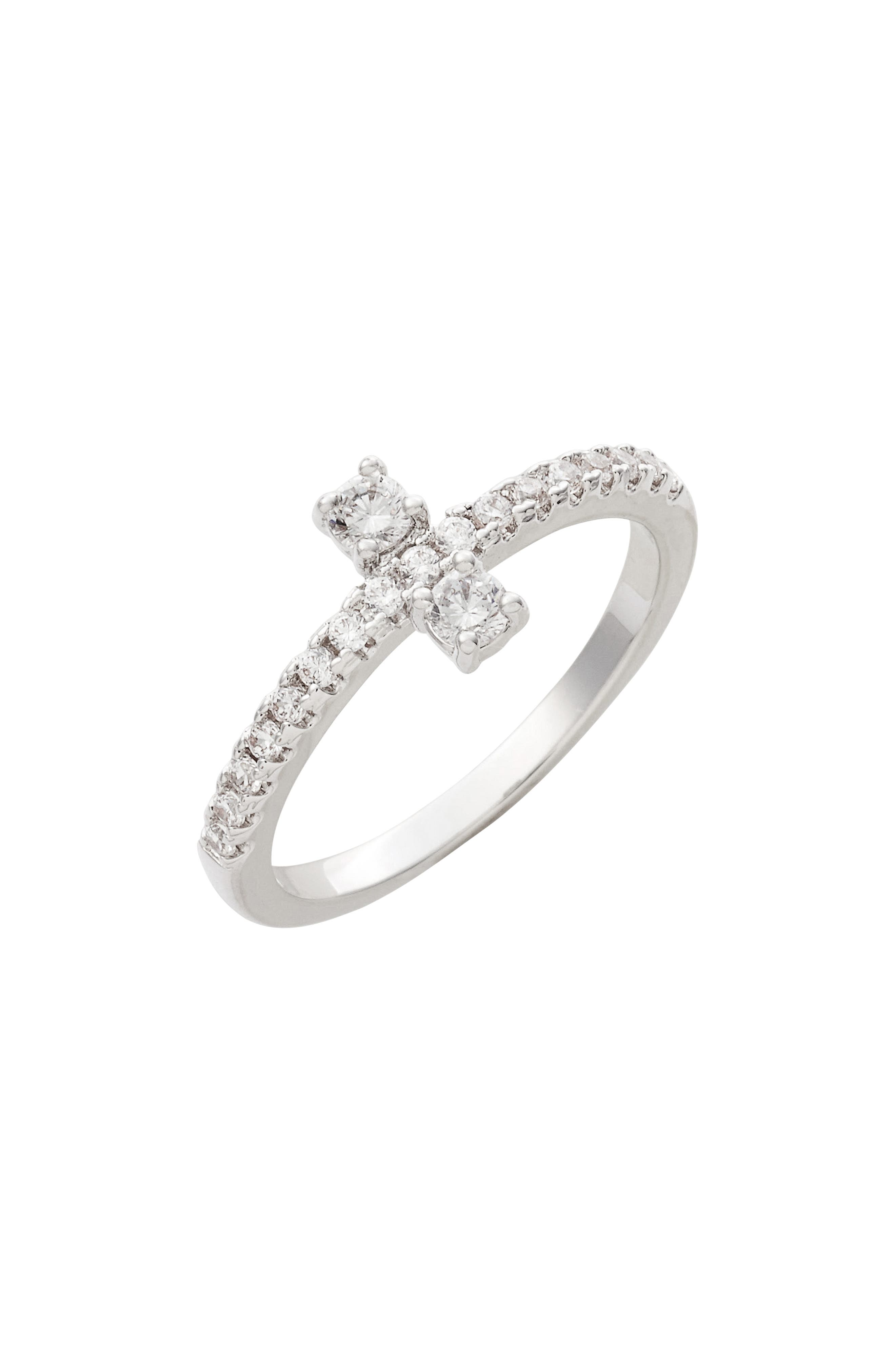 Margaret Cluster Ring,                         Main,                         color, Silver