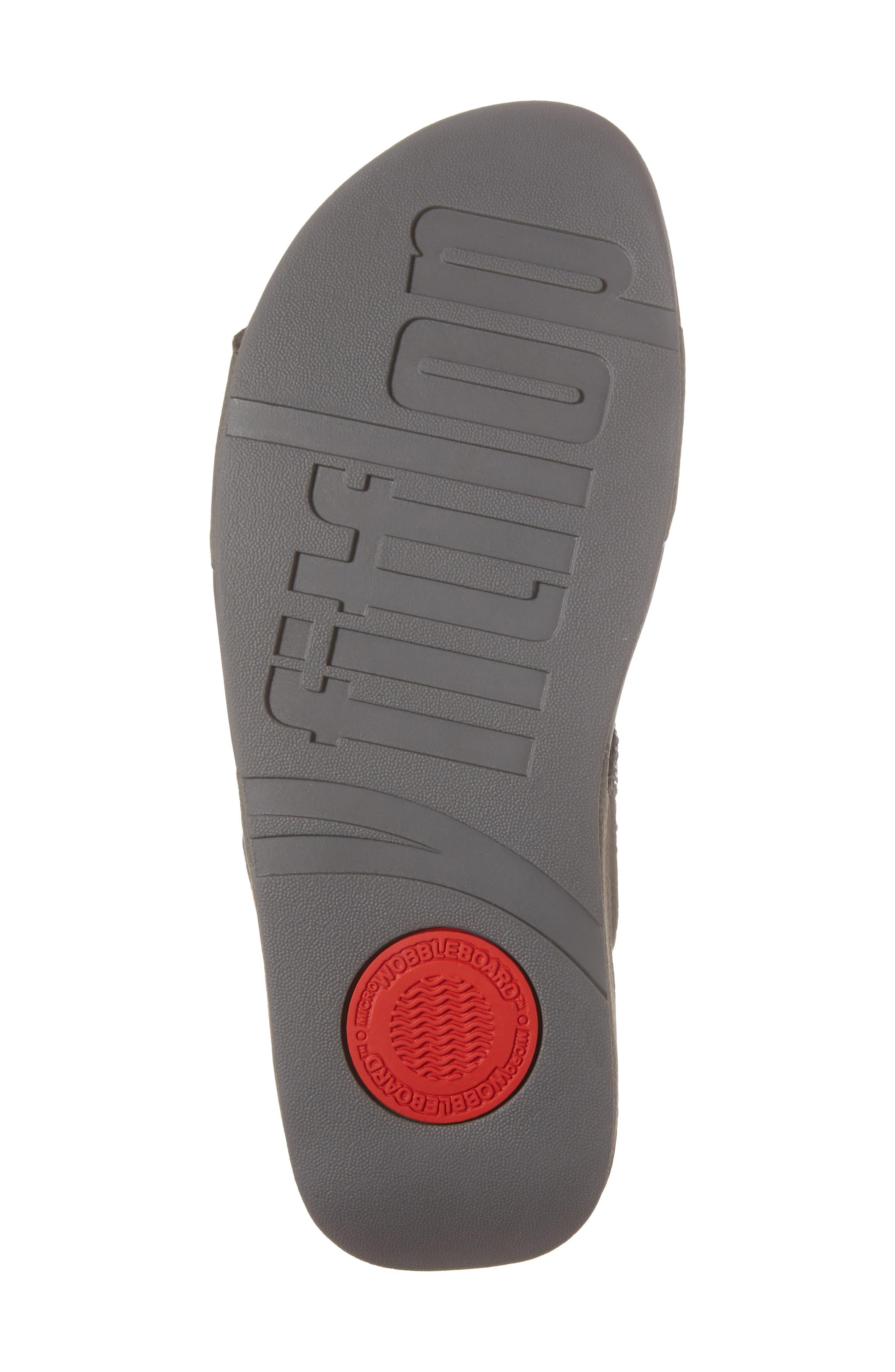 Alternate Image 6  - FitFlop Bumble Wedge Slide Sandal