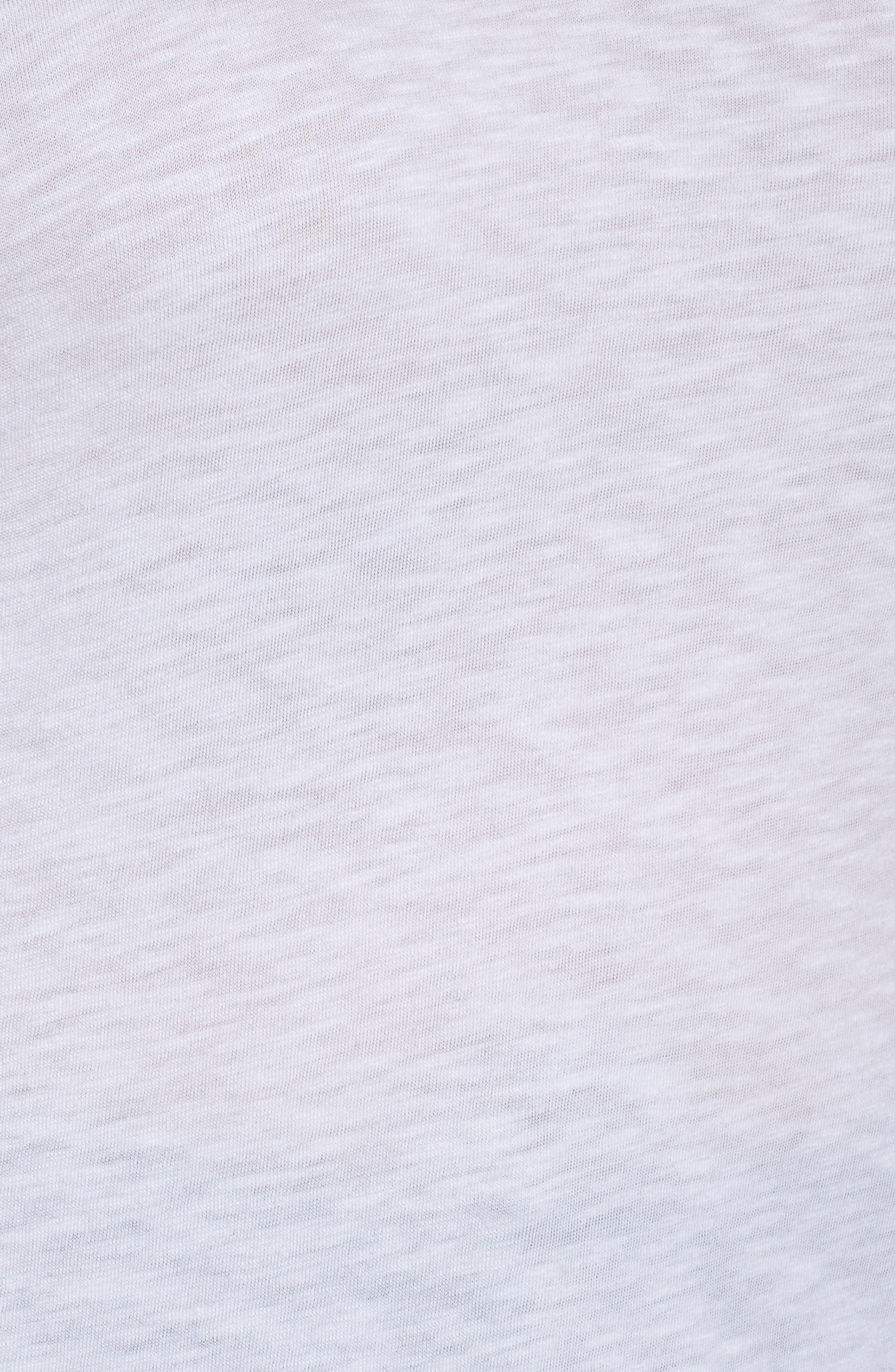 Long Sleeve Crewneck Tee,                             Alternate thumbnail 34, color,                             White