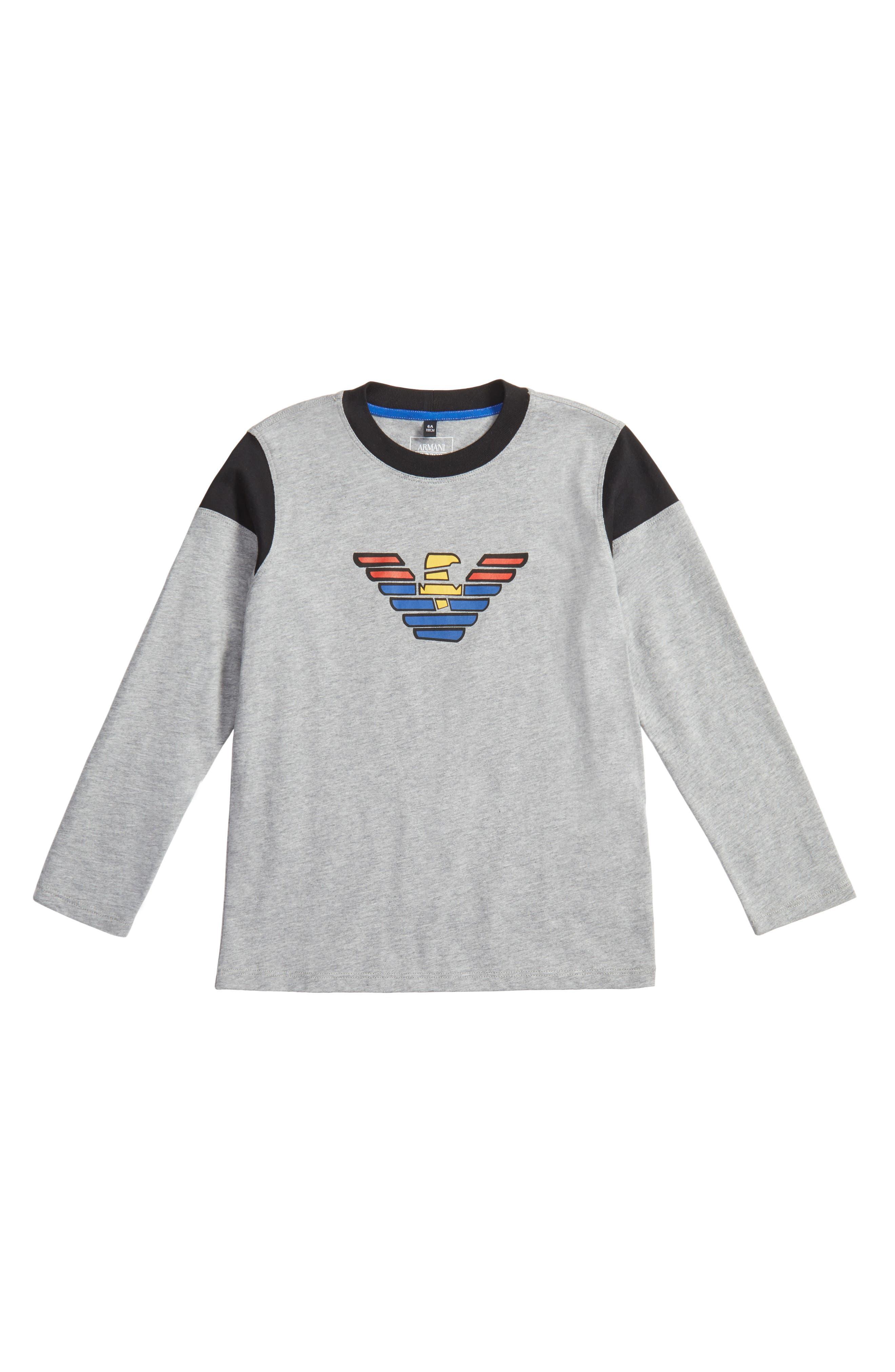 Armani Junior Logo T-Shirt (Little Boys & Big Boys)