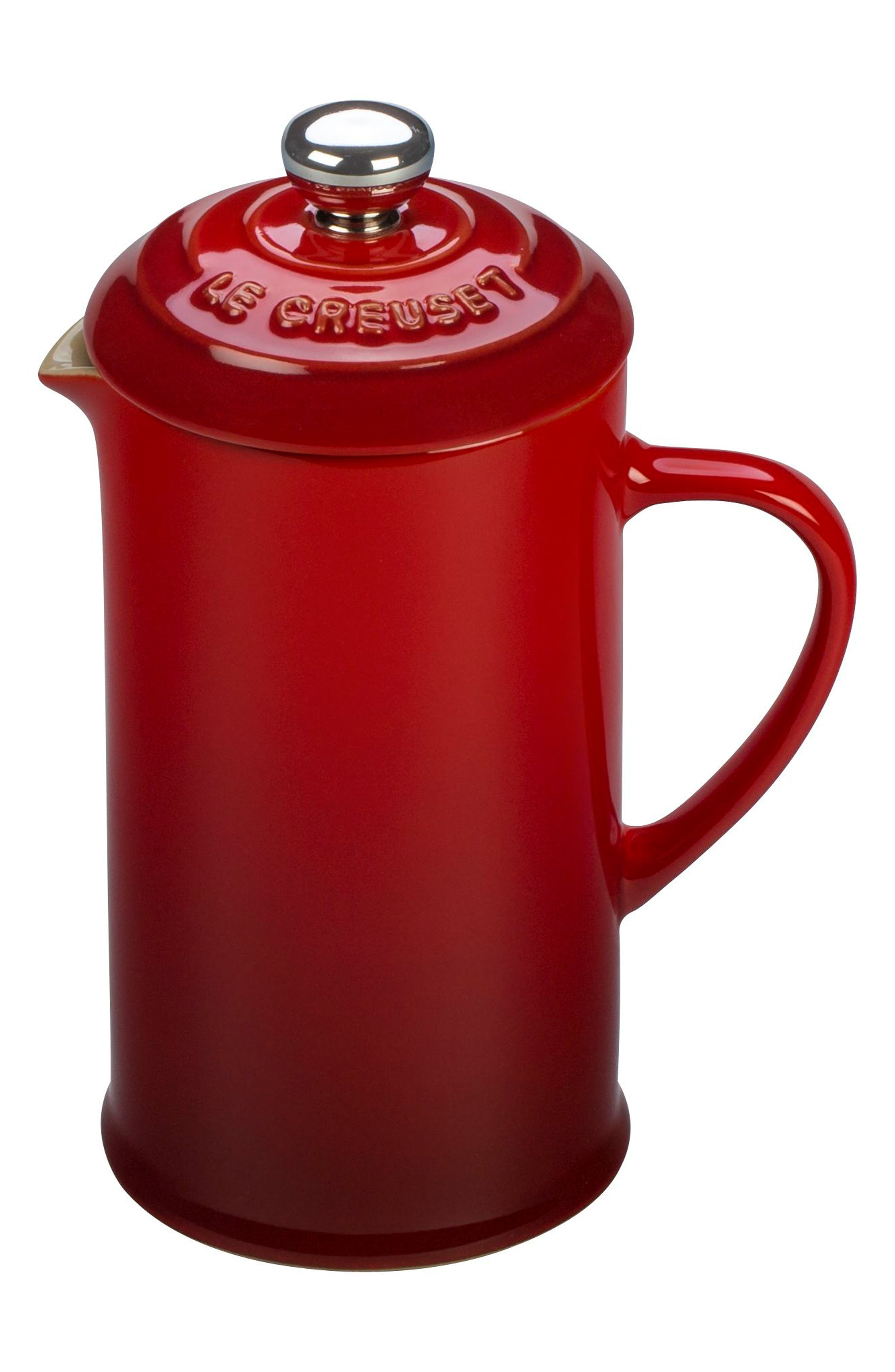 Le Creuset 12 Ounce Stoneware French Press