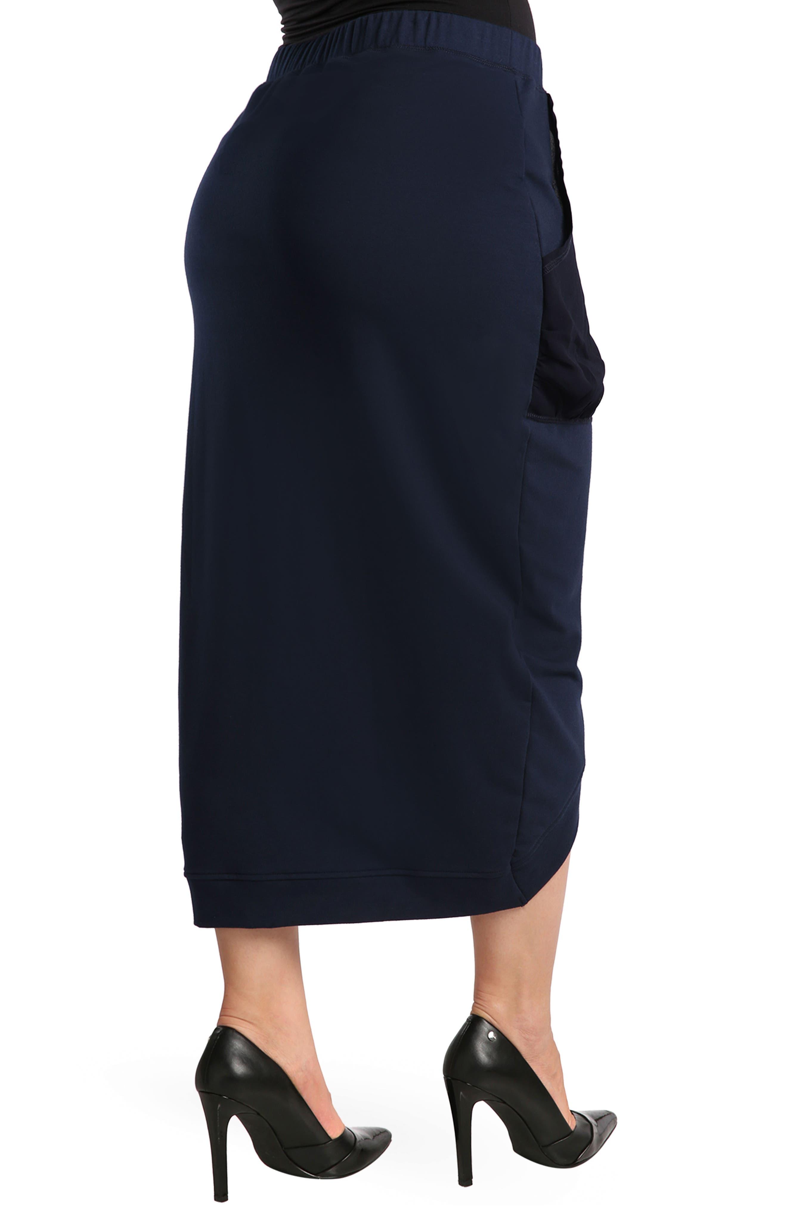 Phoebe Skirt,                             Alternate thumbnail 3, color,                             Midnight Blue