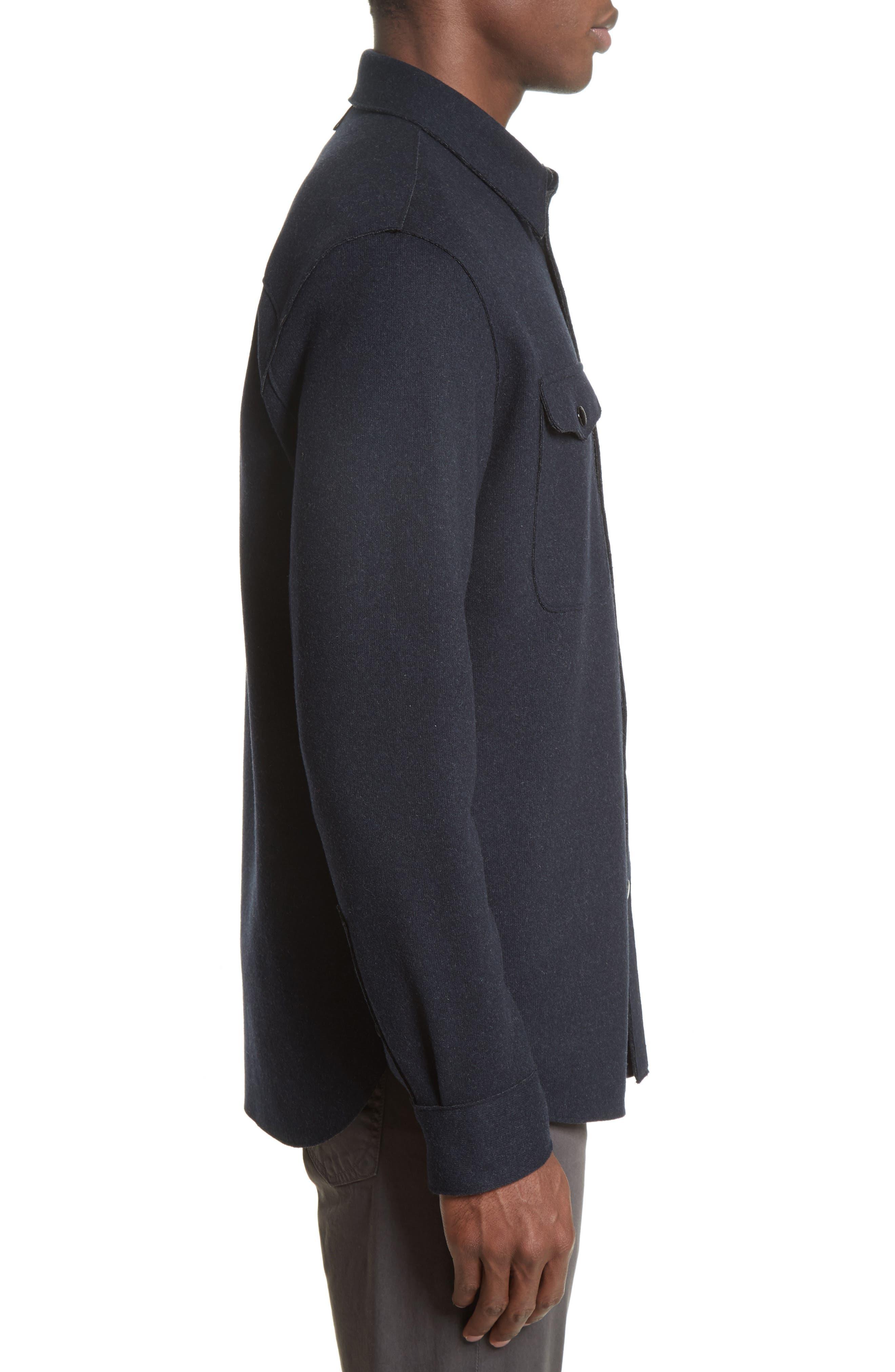 Alternate Image 3  - rag & bone Raw Edge Shirt Jacket