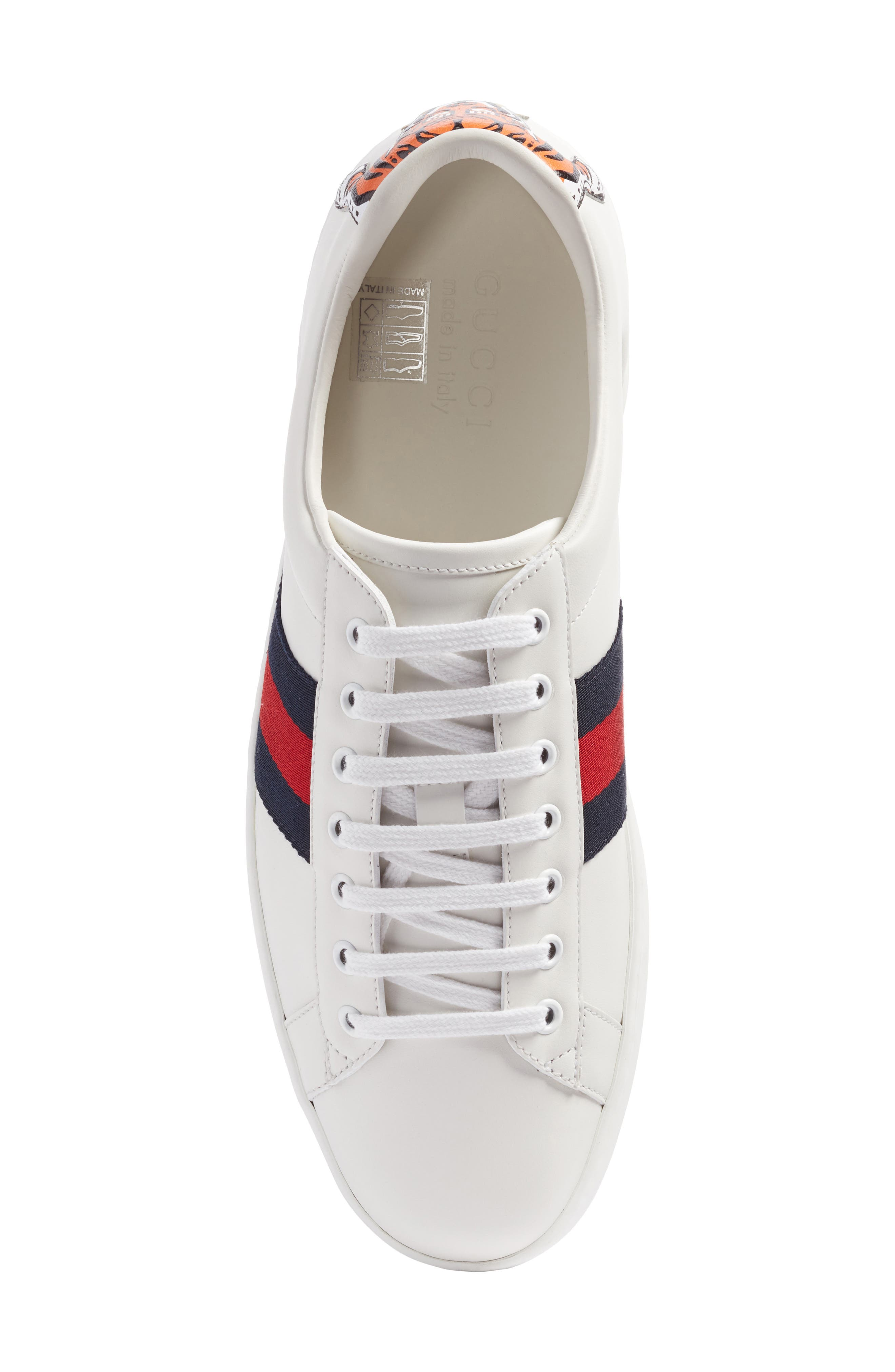 Alternate Image 5  - Gucci New Ace Tiger Sneaker (Men)