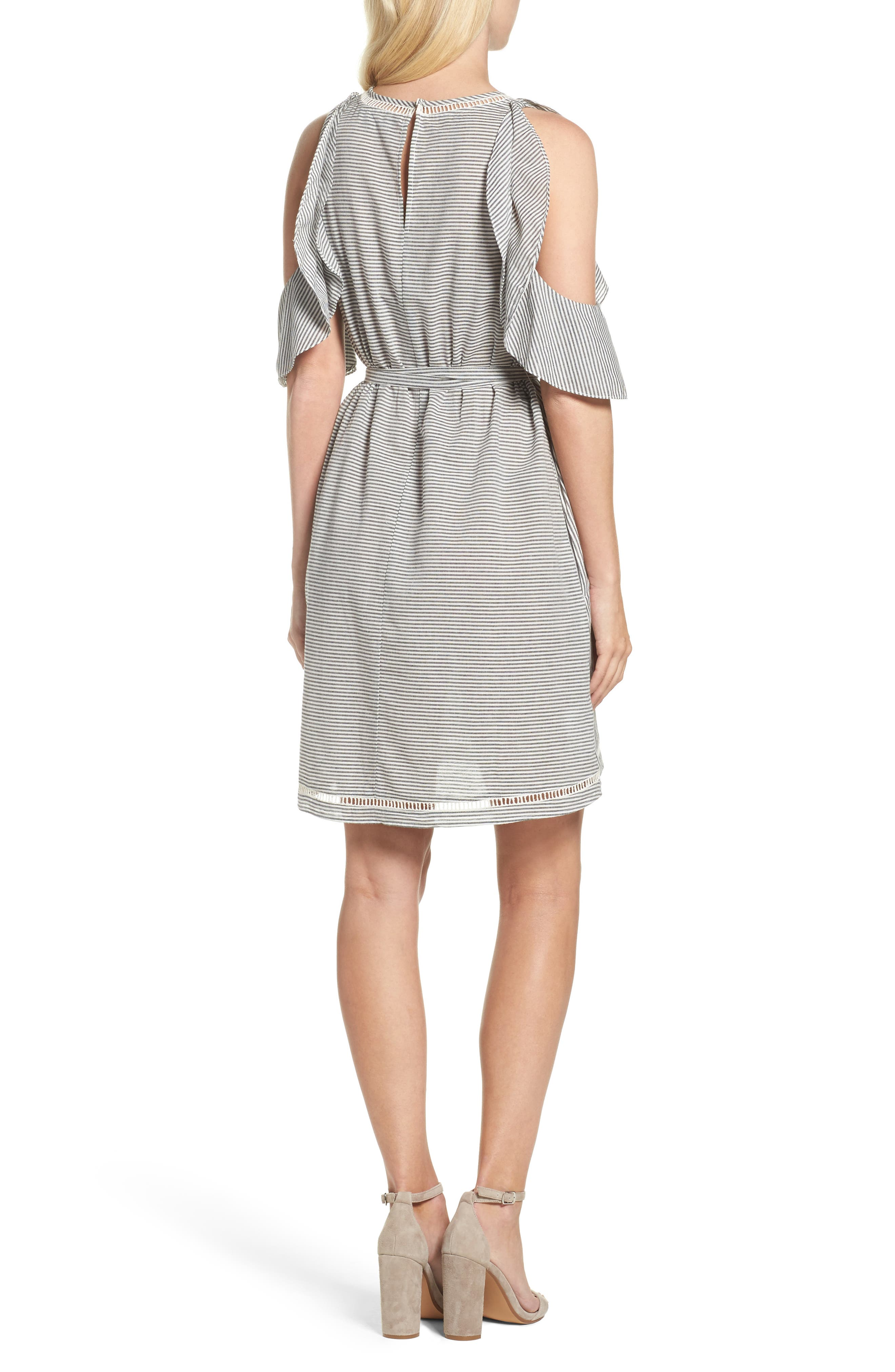 Alternate Image 2  - French Connection Clea Cold Shoulder Dress