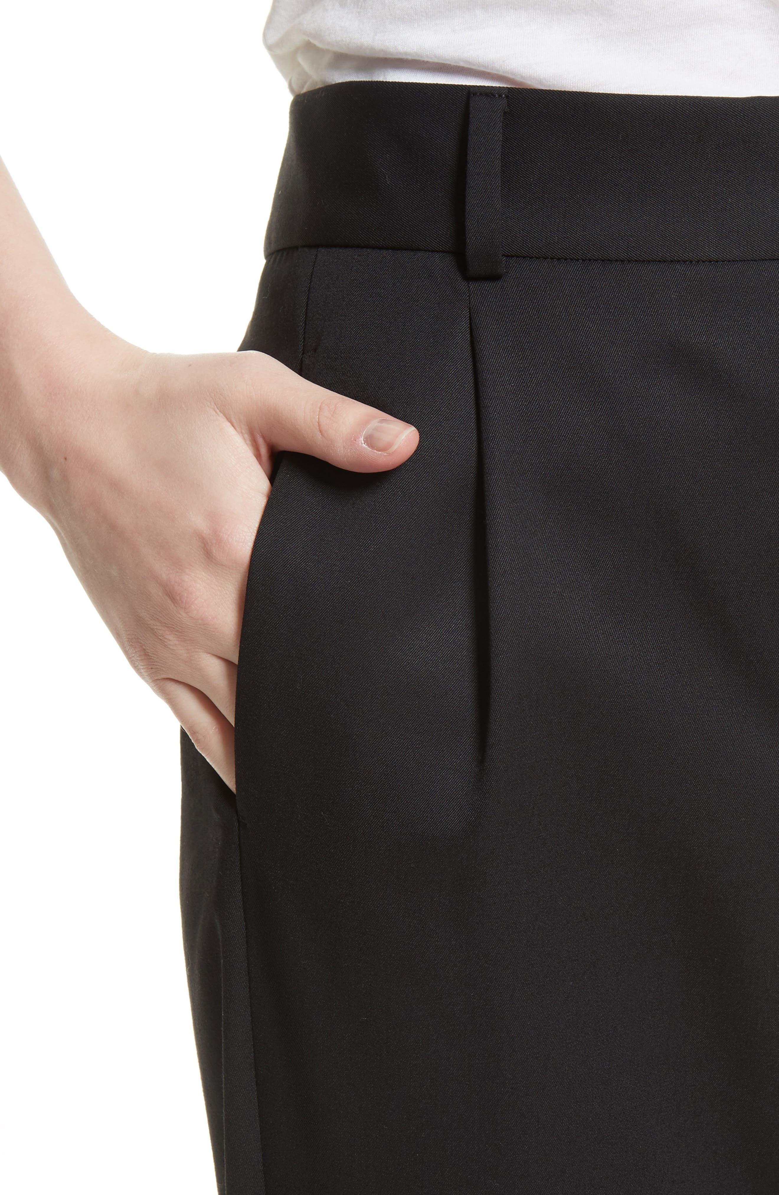 Alternate Image 6  - Saint Laurent Wool Pleated Pants
