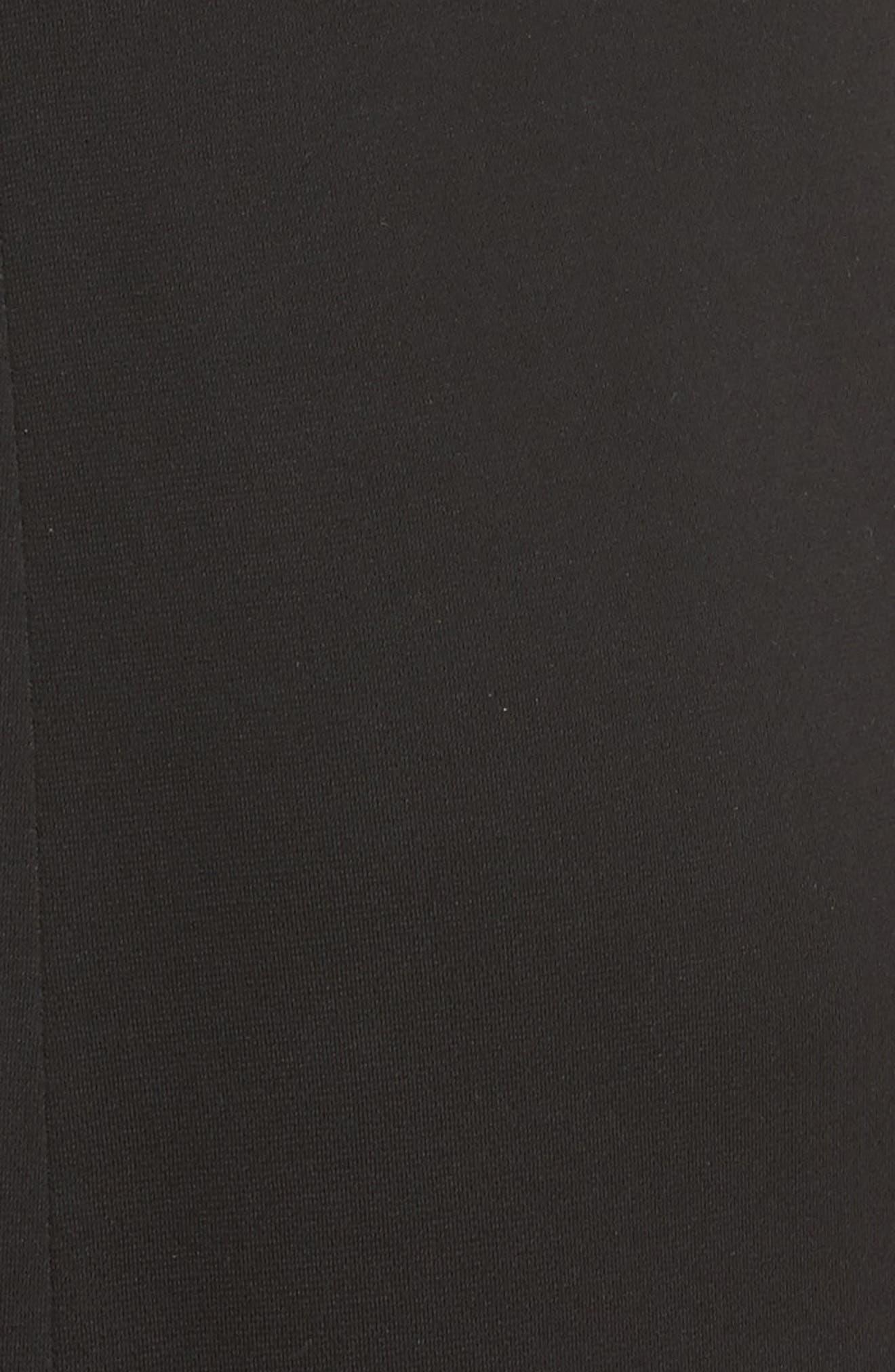 Alternate Image 5  - Armani Collezioni Crystal Trim Matte Jersey Gown