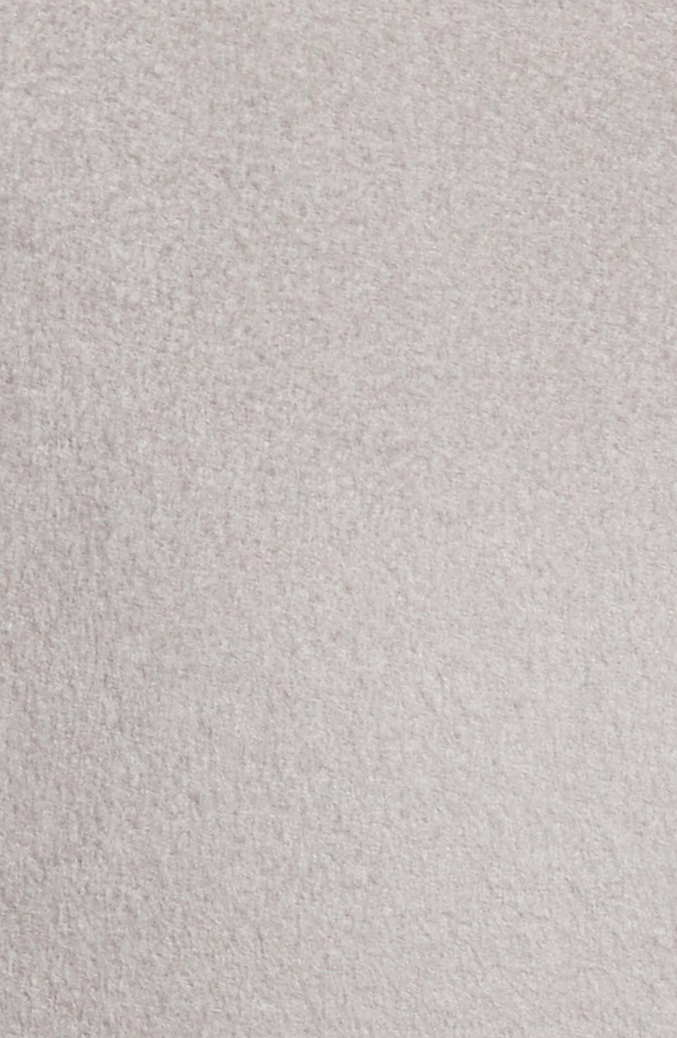 Alternate Image 5  - Armani Collezioni Double Face Cashmere Wrap Coat