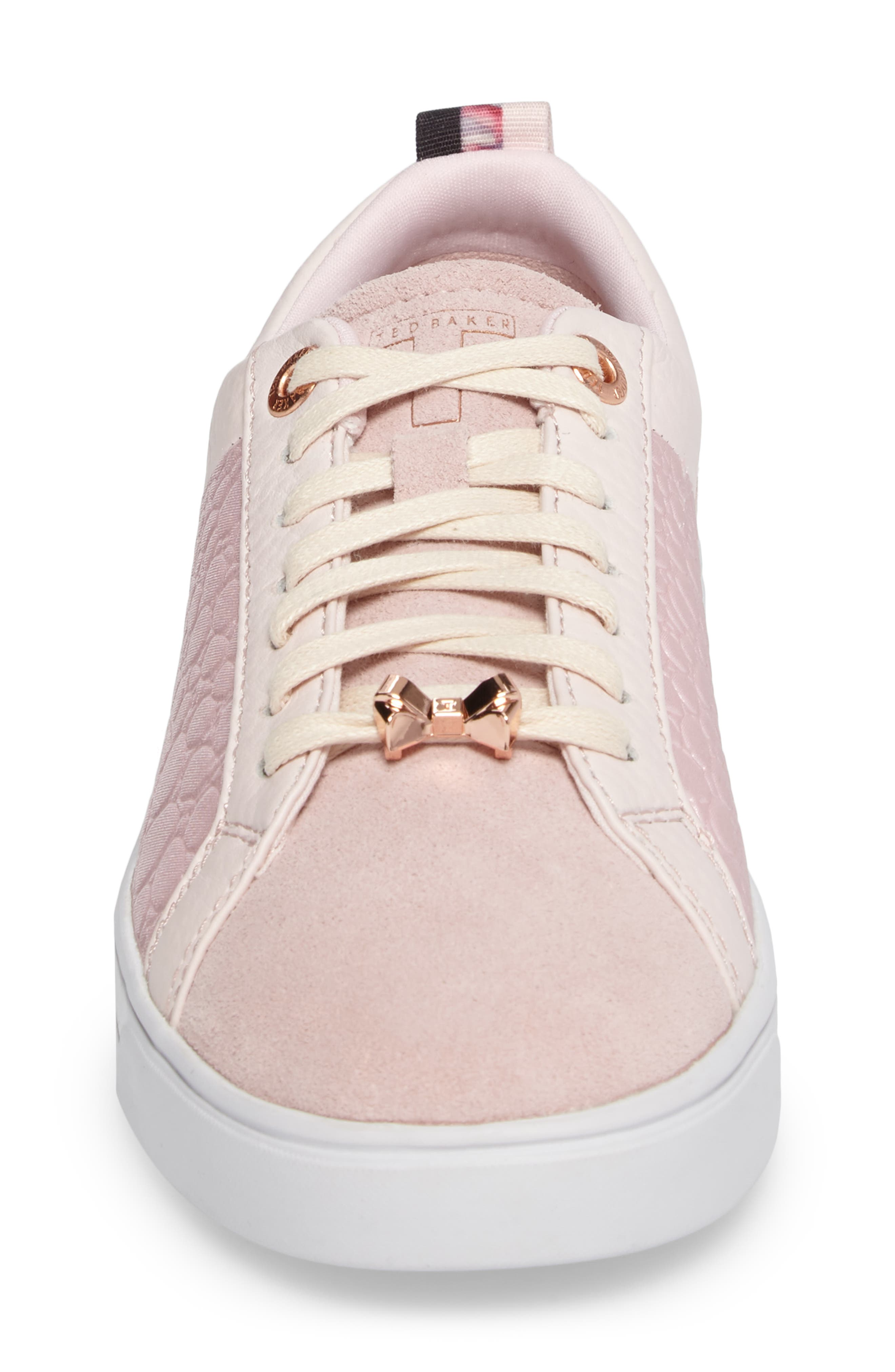 Kulei Sneaker,                             Alternate thumbnail 4, color,                             Light Pink Leather