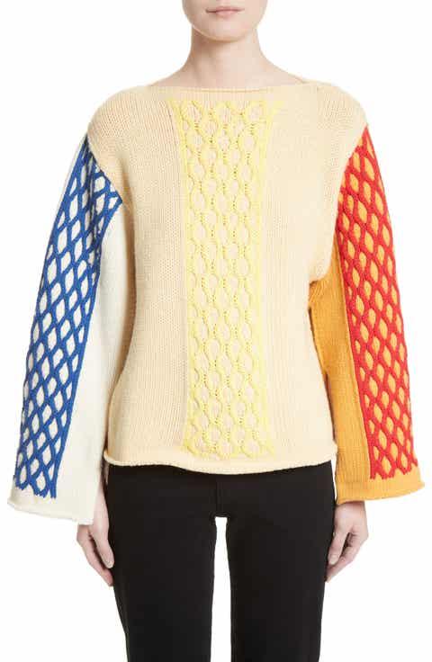 Women's J.W.ANDERSON Yellow Sweaters: Sale | Nordstrom