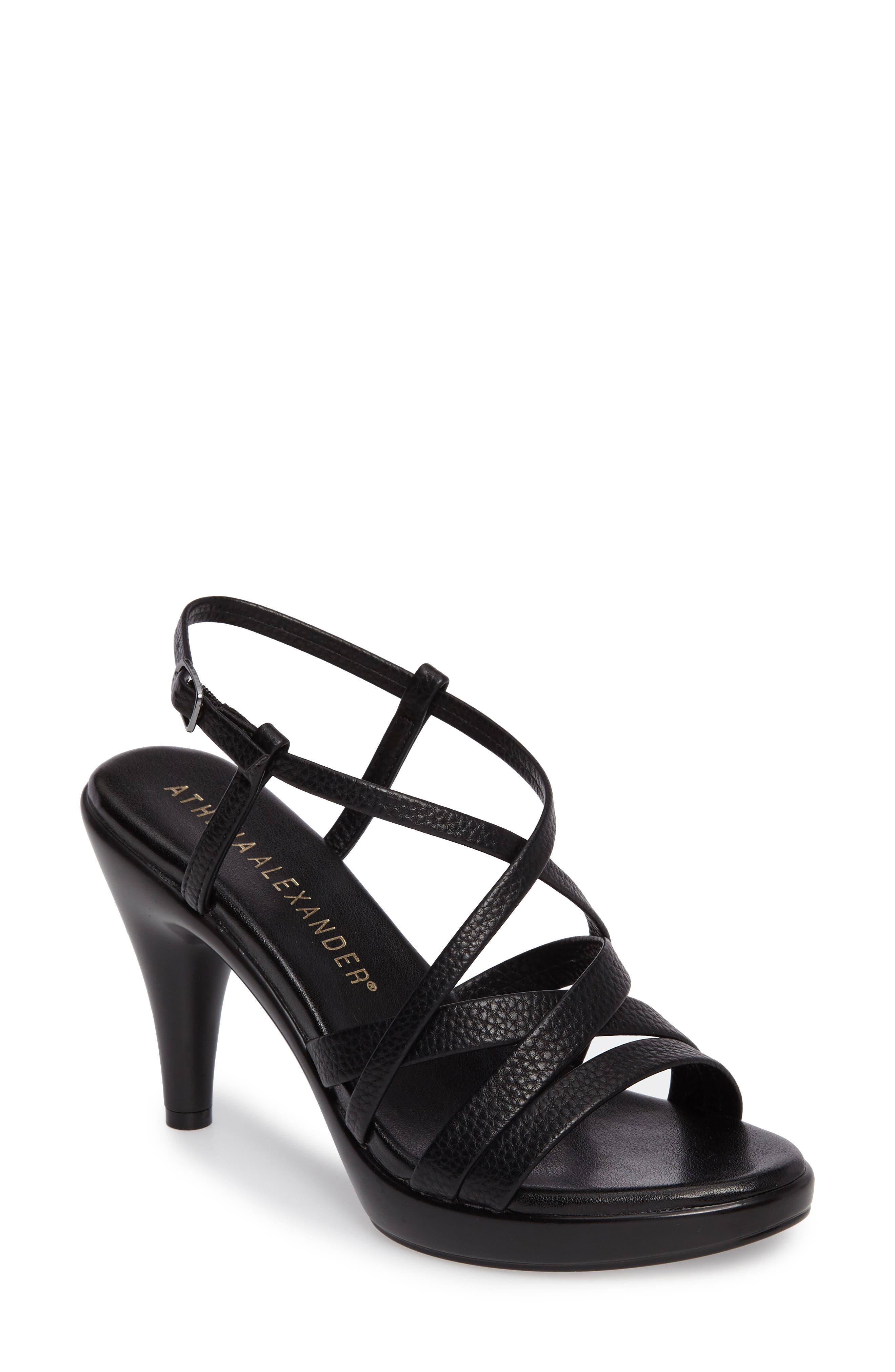 Alternate Image 1 Selected - Athena Alexander Gabrielaa Cross Strap Sandal (Women)