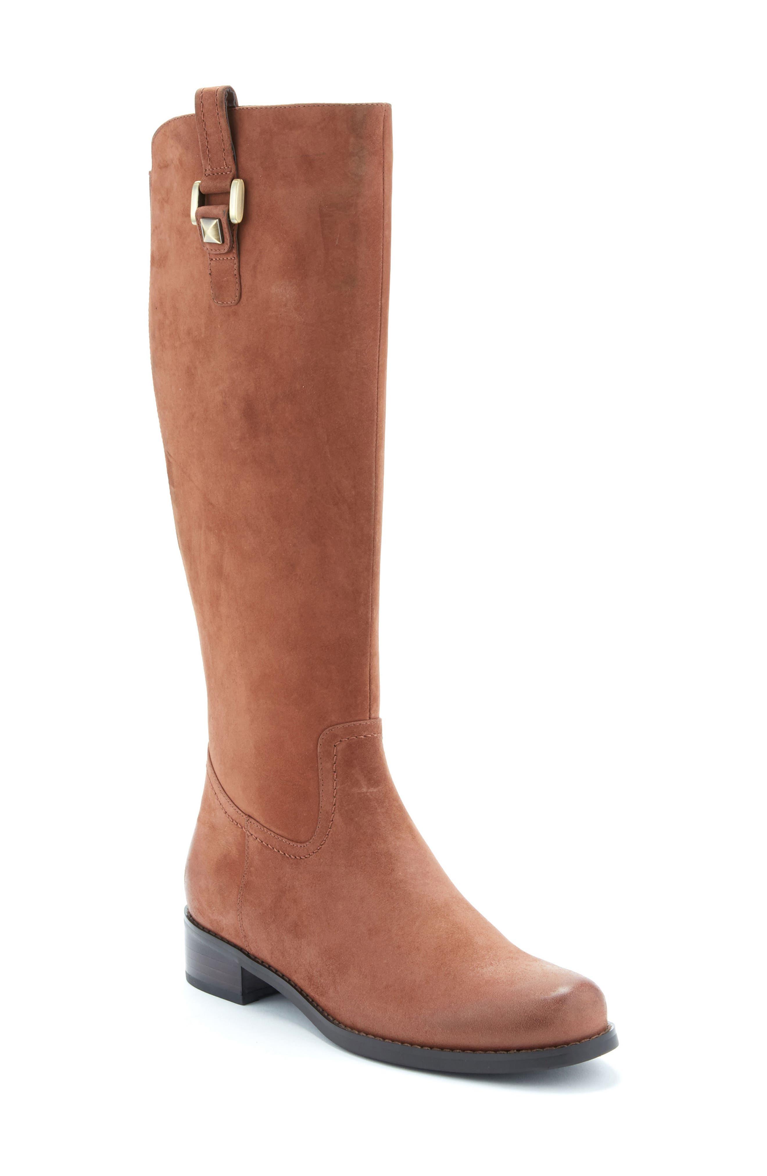 Alternate Image 1 Selected - Blondo 'Velvet' Waterproof Riding Boot (Women) (Regular & Wide Calf)