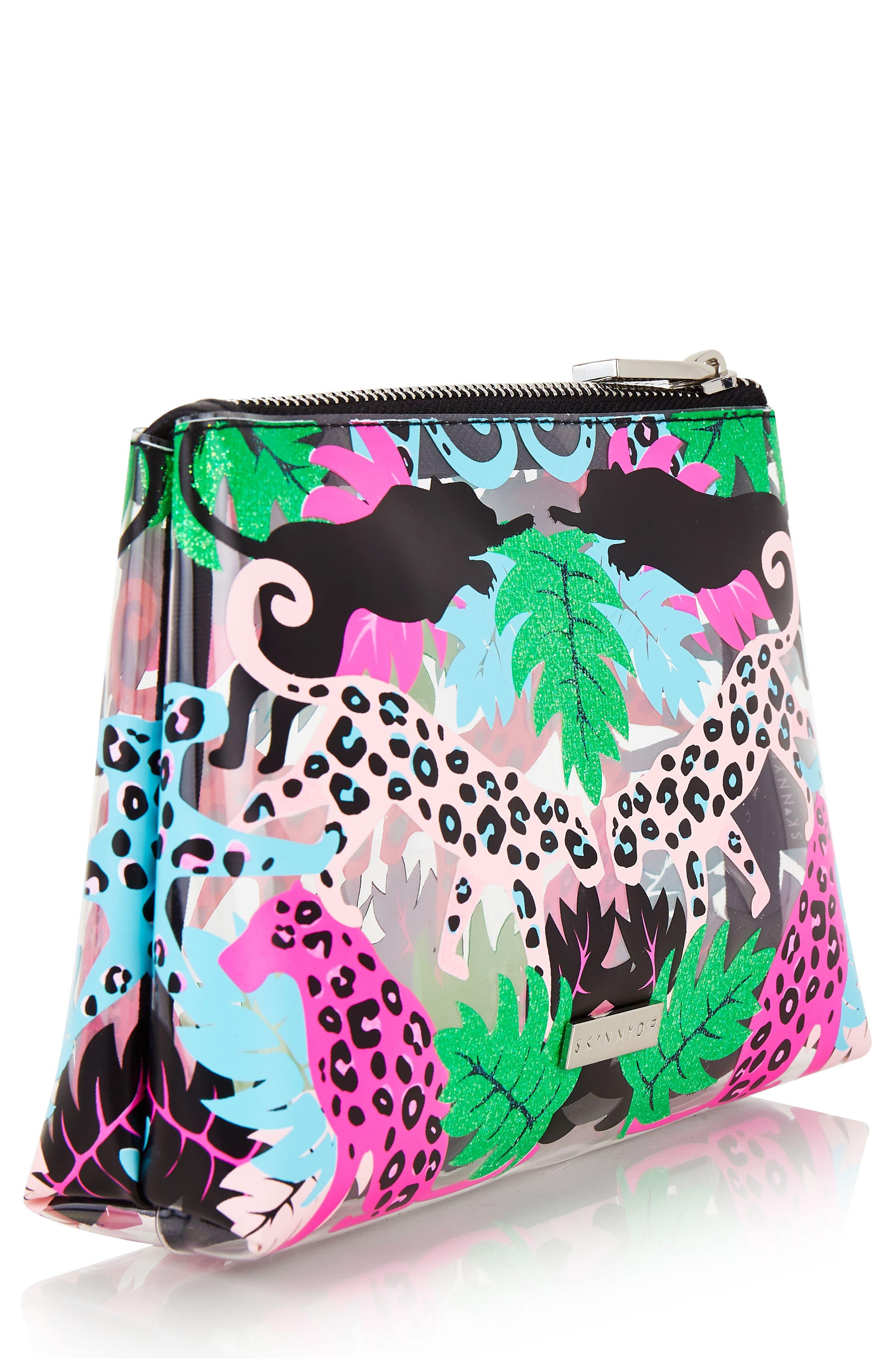 Skinny Dip Carmen Makeup Bag,                         Main,                         color, No Color