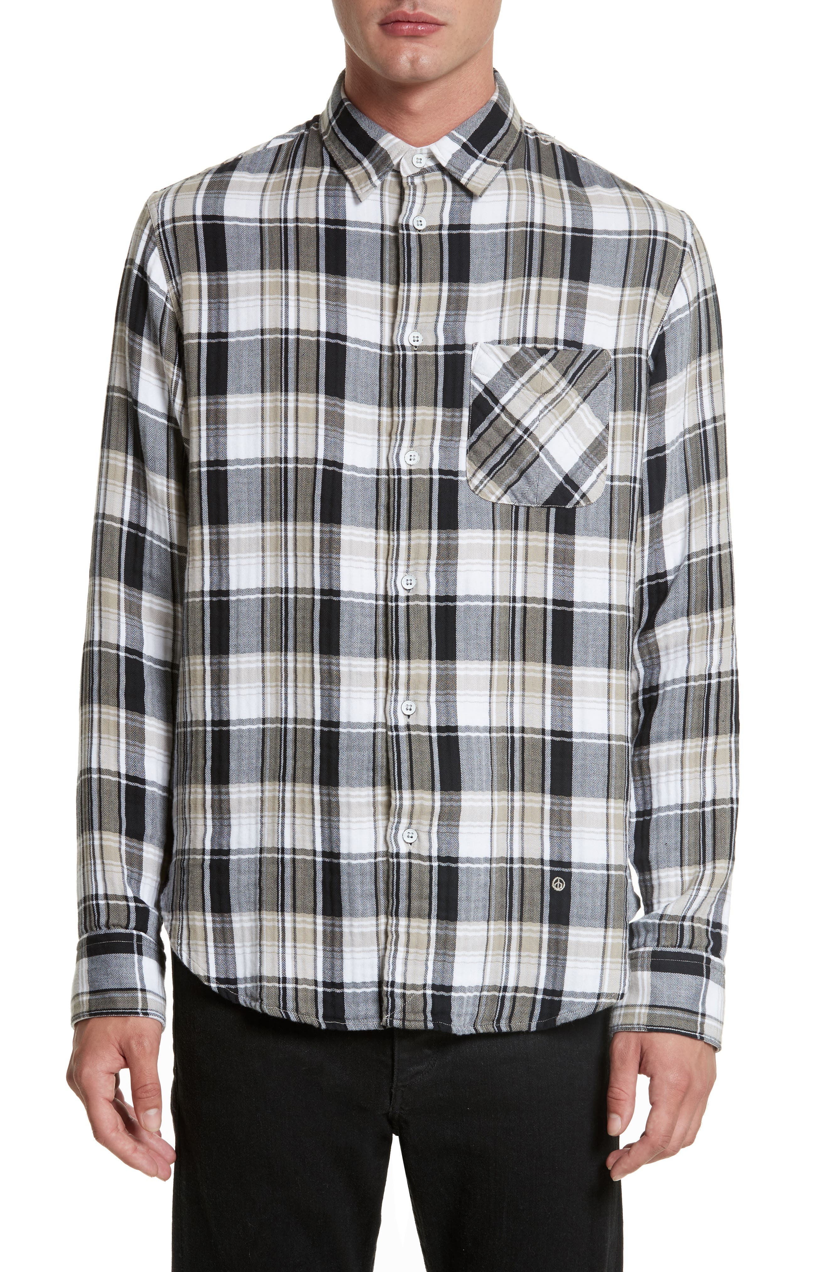 Alternate Image 1 Selected - rag & bone Fit 3 Beach Plaid Woven Shirt